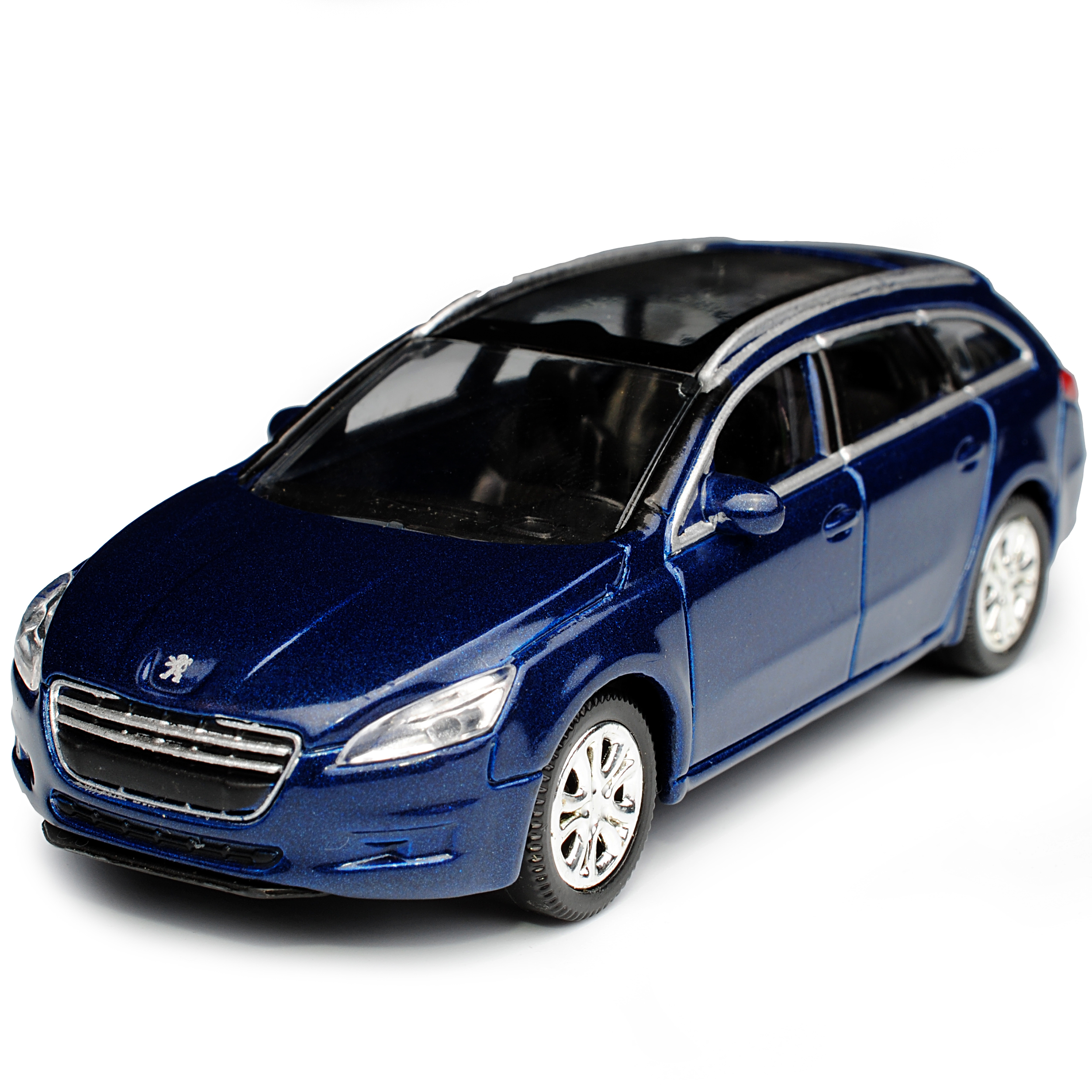 PEUGEOT 508 SW Sport Wagon Combi bleu à partir de 2010 1//64 NOREV modèle voiture avec ou O..
