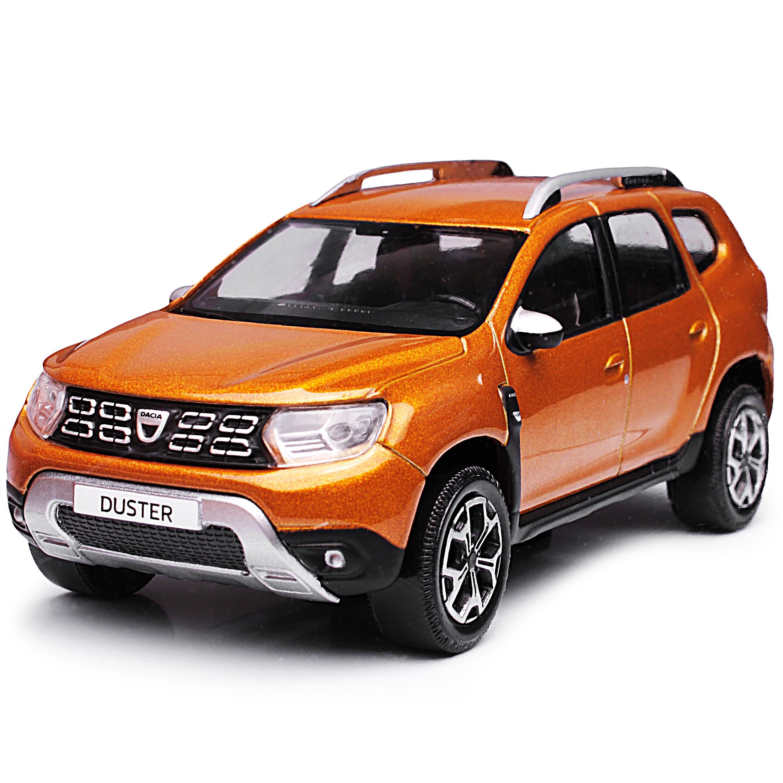 generación a partir de 2018 1//43 norev M.. Dacia Duster II Taklamakan Orange marrón SUV 2