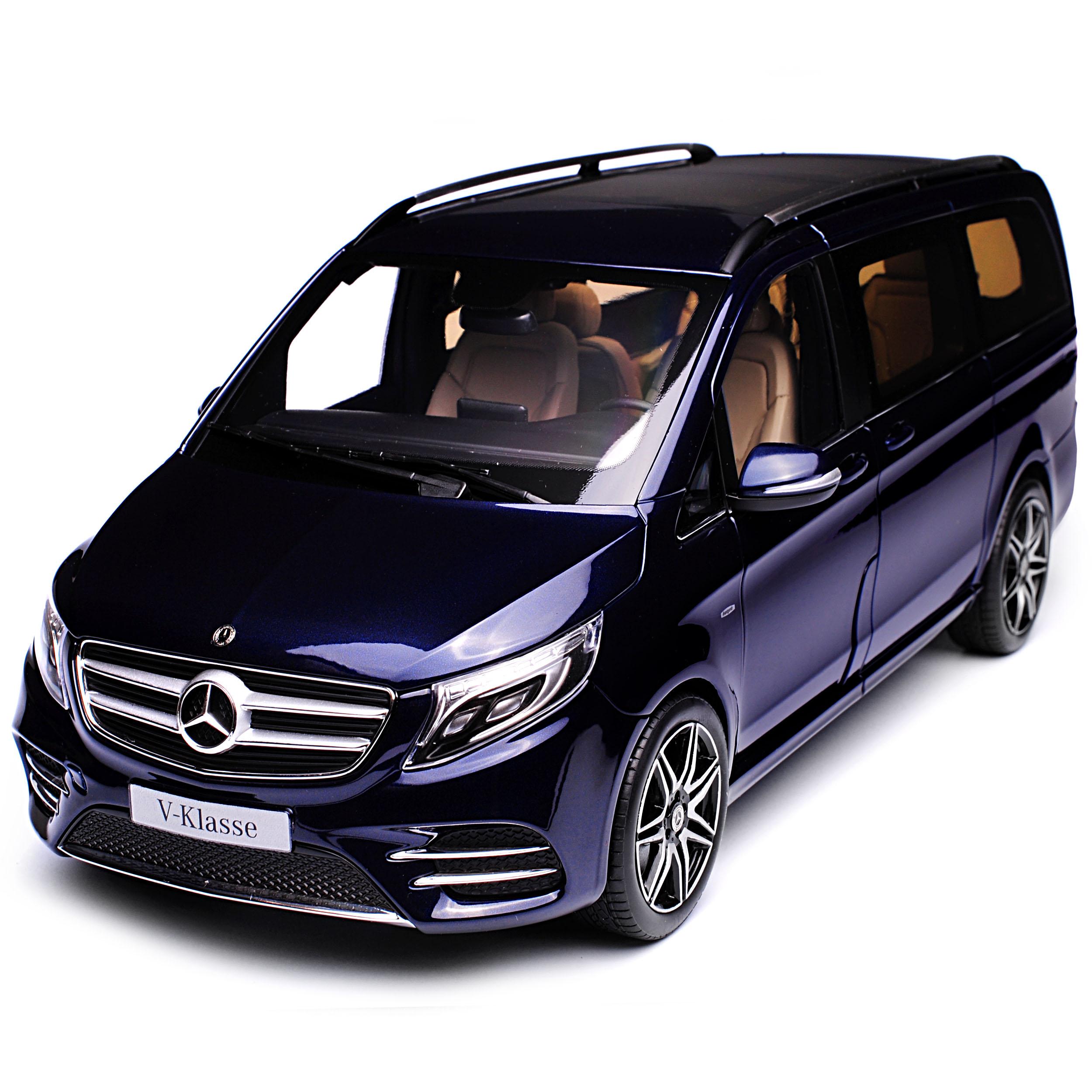 Benz blau klasse mercedes v Acties V