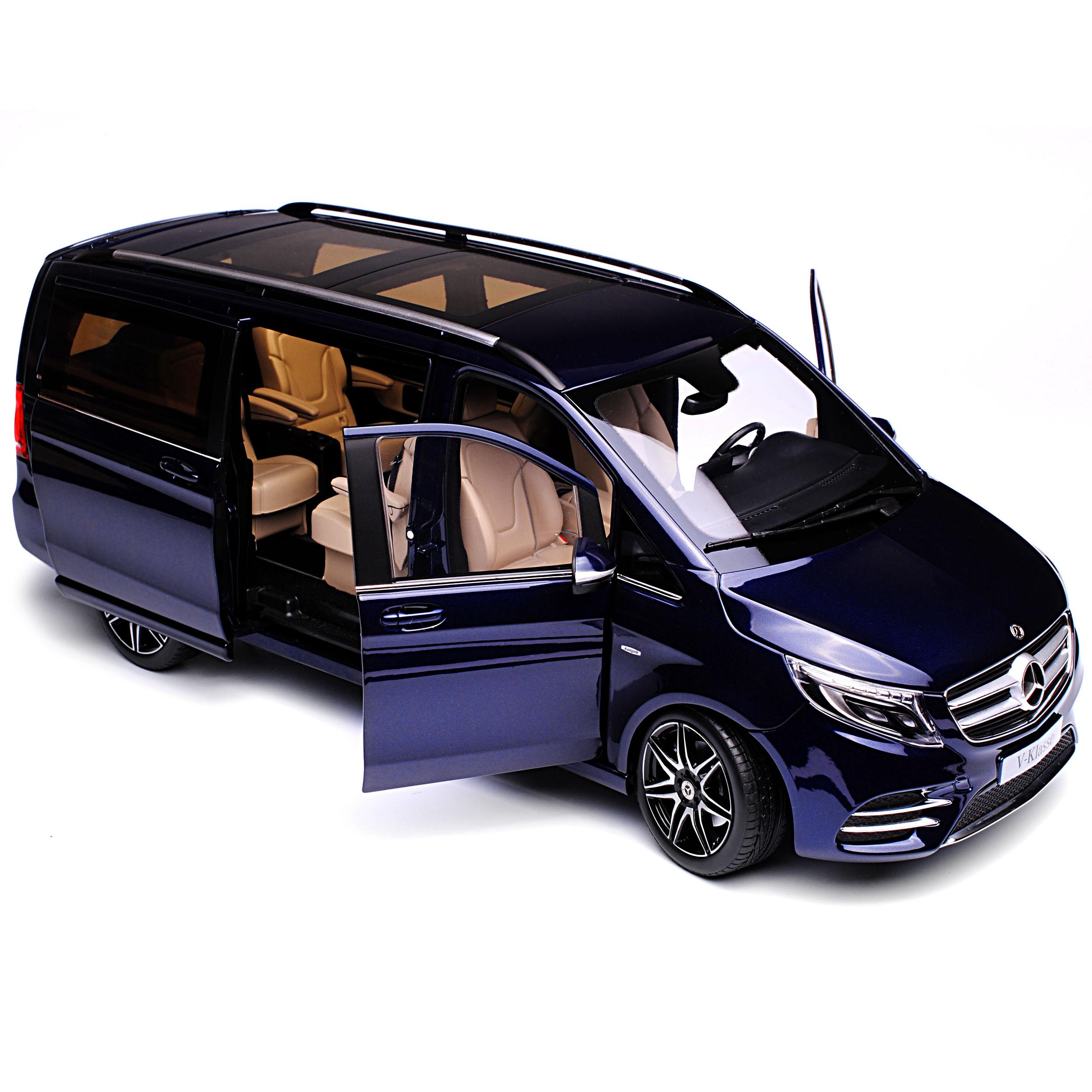 Mercedes-Benz V-Klasse Avantgard V447 Cavansit Blau Metallic 3 Generation Ab ..