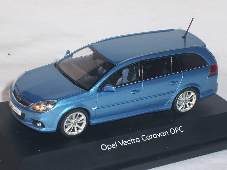 opel vectra c caravan opc kombi blau 1 43 schuco modell. Black Bedroom Furniture Sets. Home Design Ideas