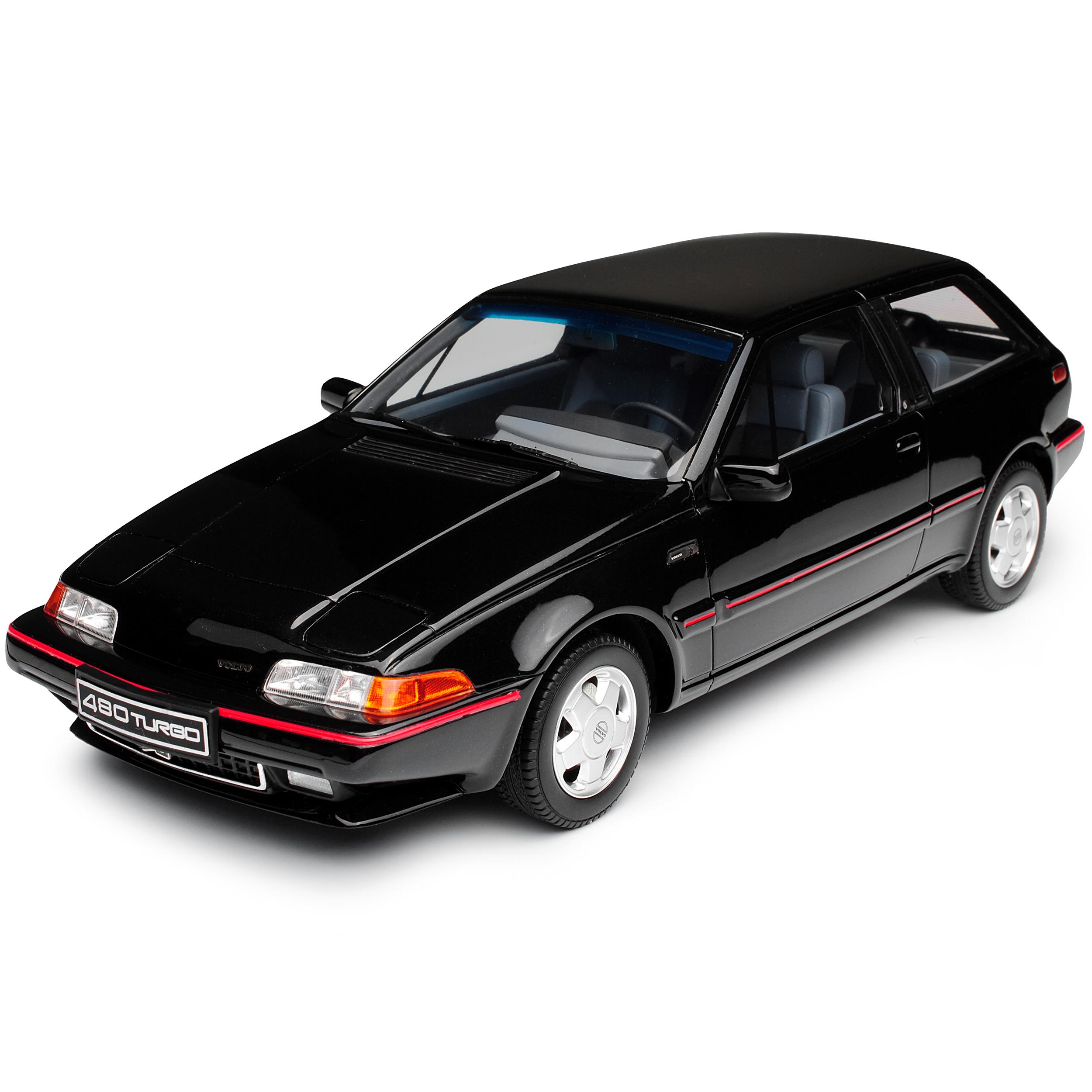 Volvo 480 Turbo Schwarz 1986-1995 Nr 740 1//18 Otto Modell Auto mit oder ohne i..