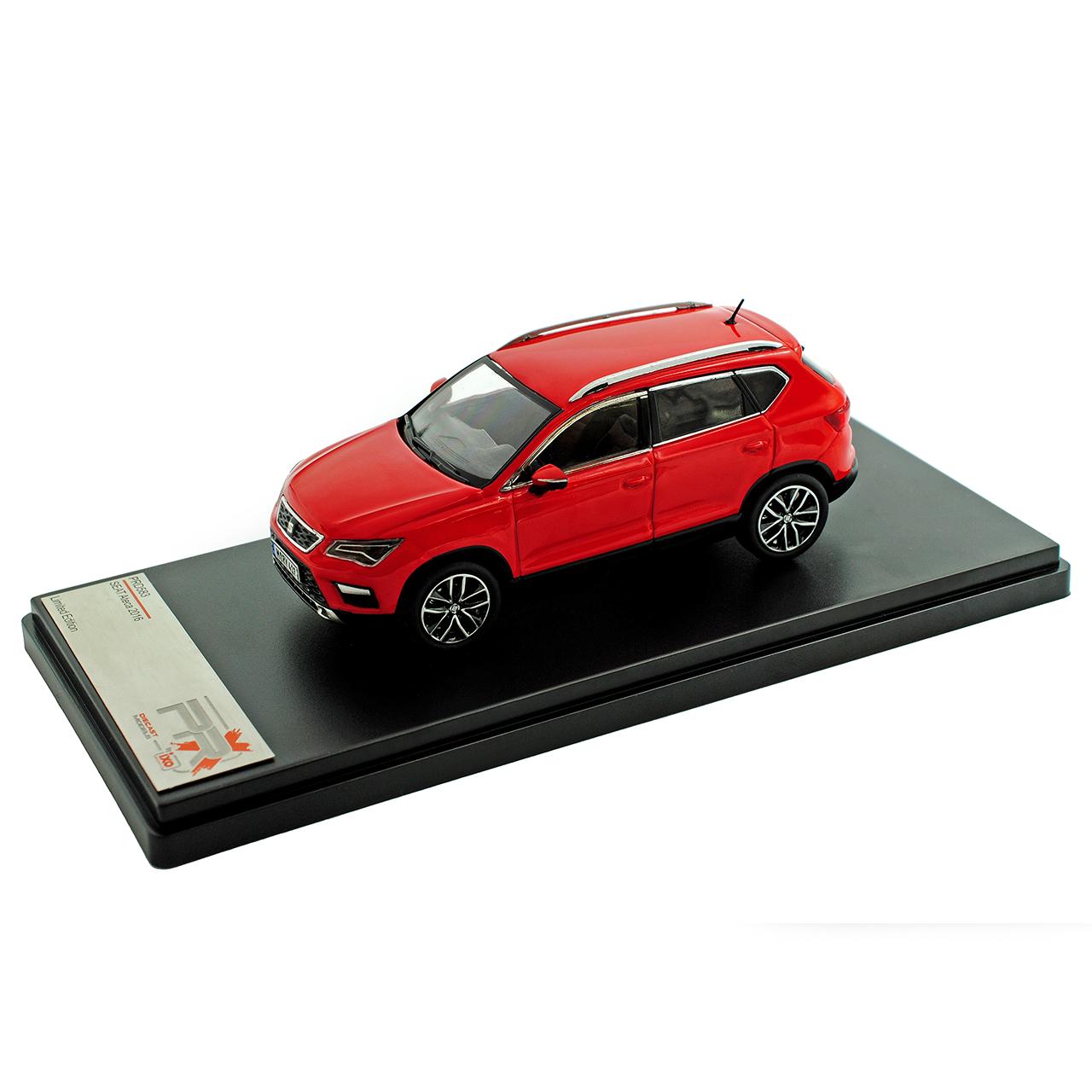 Seat Ateca SUV Rot Ab 2016 1//43 PremiumX Modell Auto mit oder ohne individiuel..