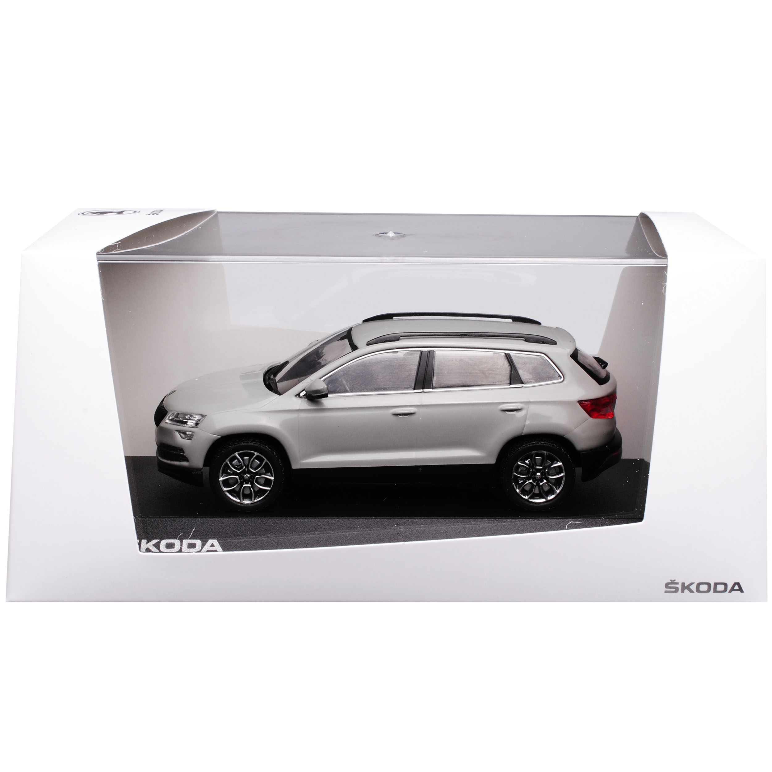 Skoda karoq SUV acero gris a partir de 2017 1//43 modelo Premiumx auto con o sin ind...