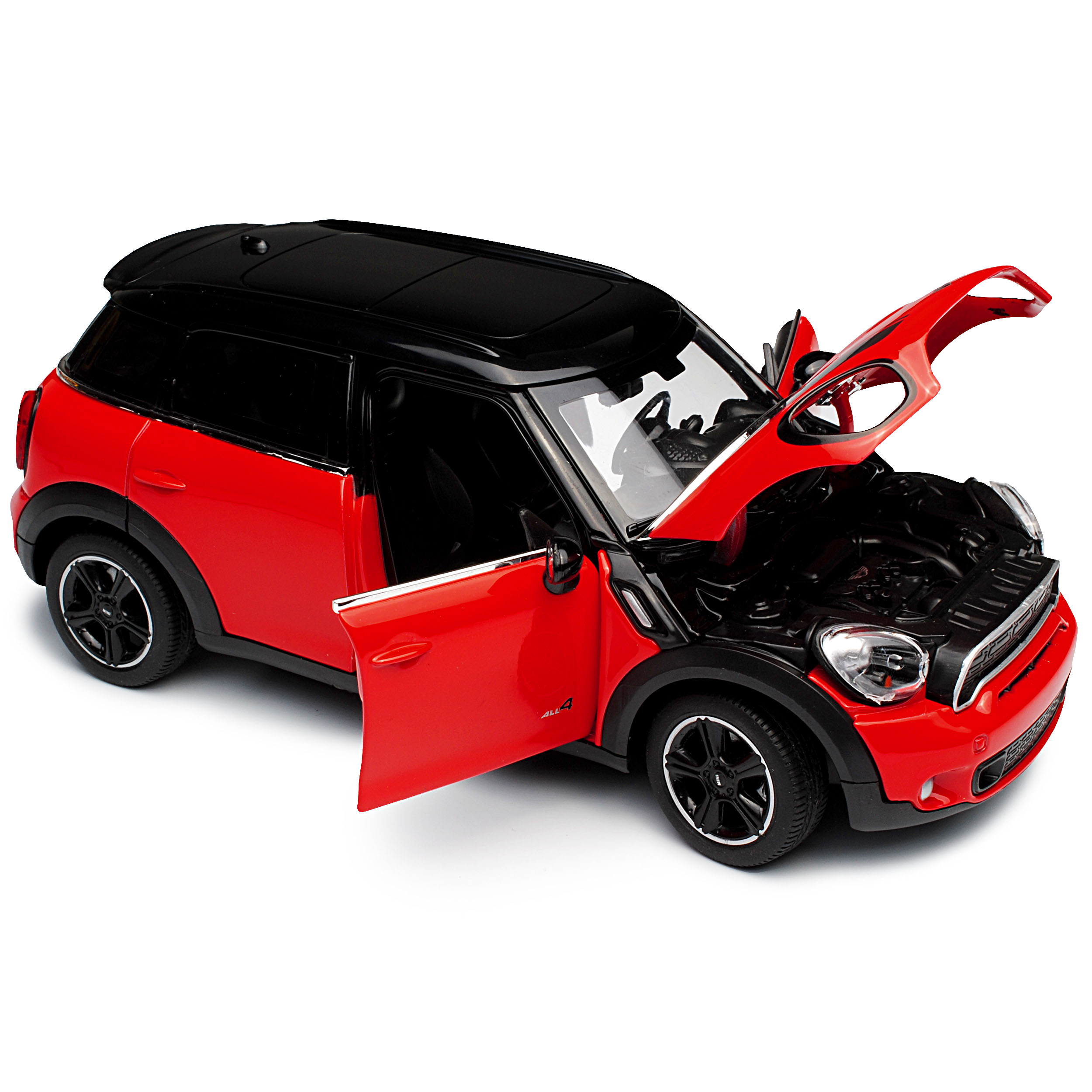 Generation 2010-2017 1//24 Rastar MODEL... MINI COOPER S COUNTRYMAN r60 SUV ROSSO 1