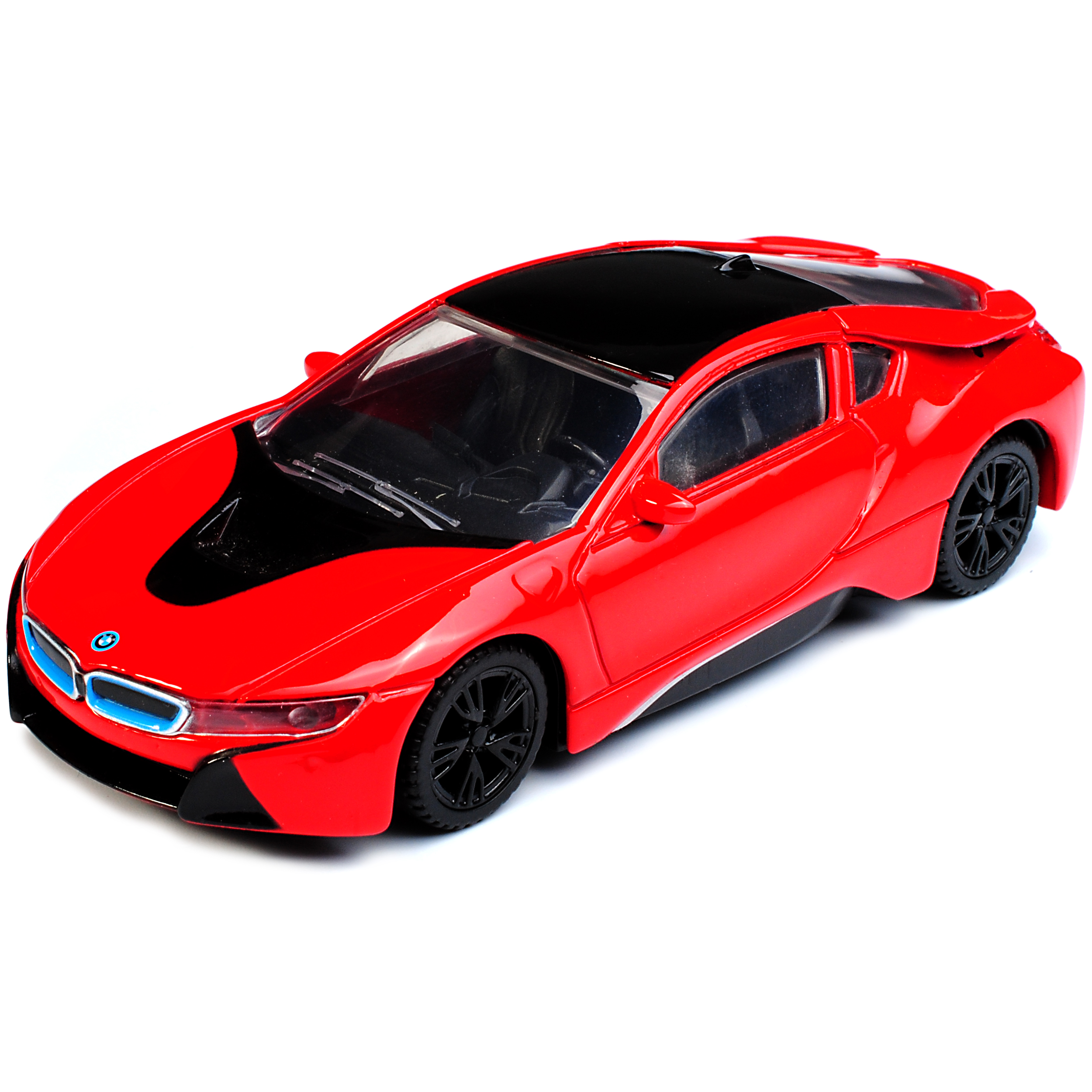 Rojo BMW I8 Coupé del Rastar 2013 1//43 modelismo coches con o sin individiuellem...