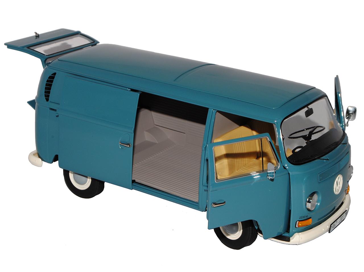 VW Volkswagen T2a 50 Jahre Jubiläumsedition Bus Kasten Transporter Blau 1967-1..