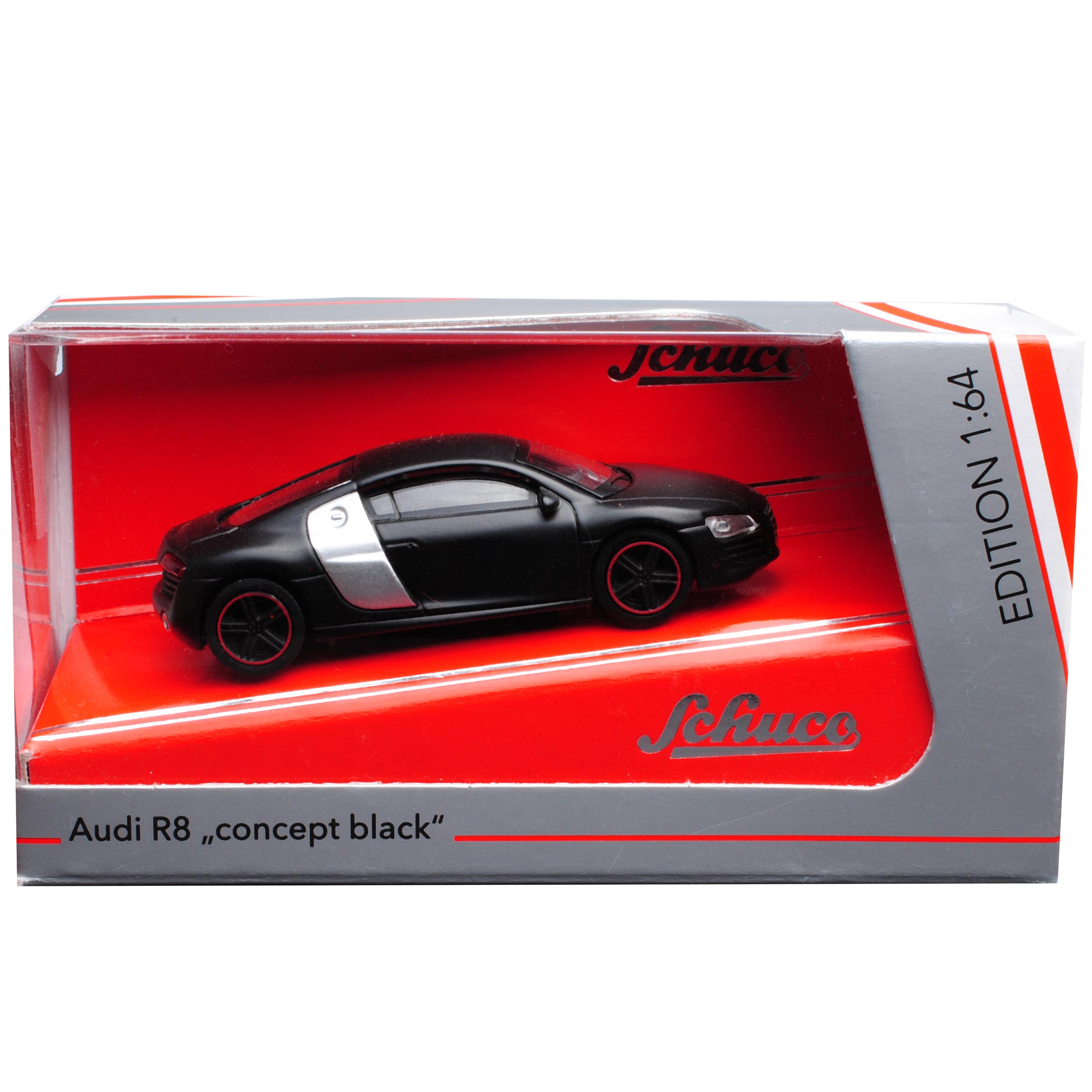 Generation 2006-2015 1//64 Schuco Auto Modello... AUDI r8 42 Coupe nero opaco 1