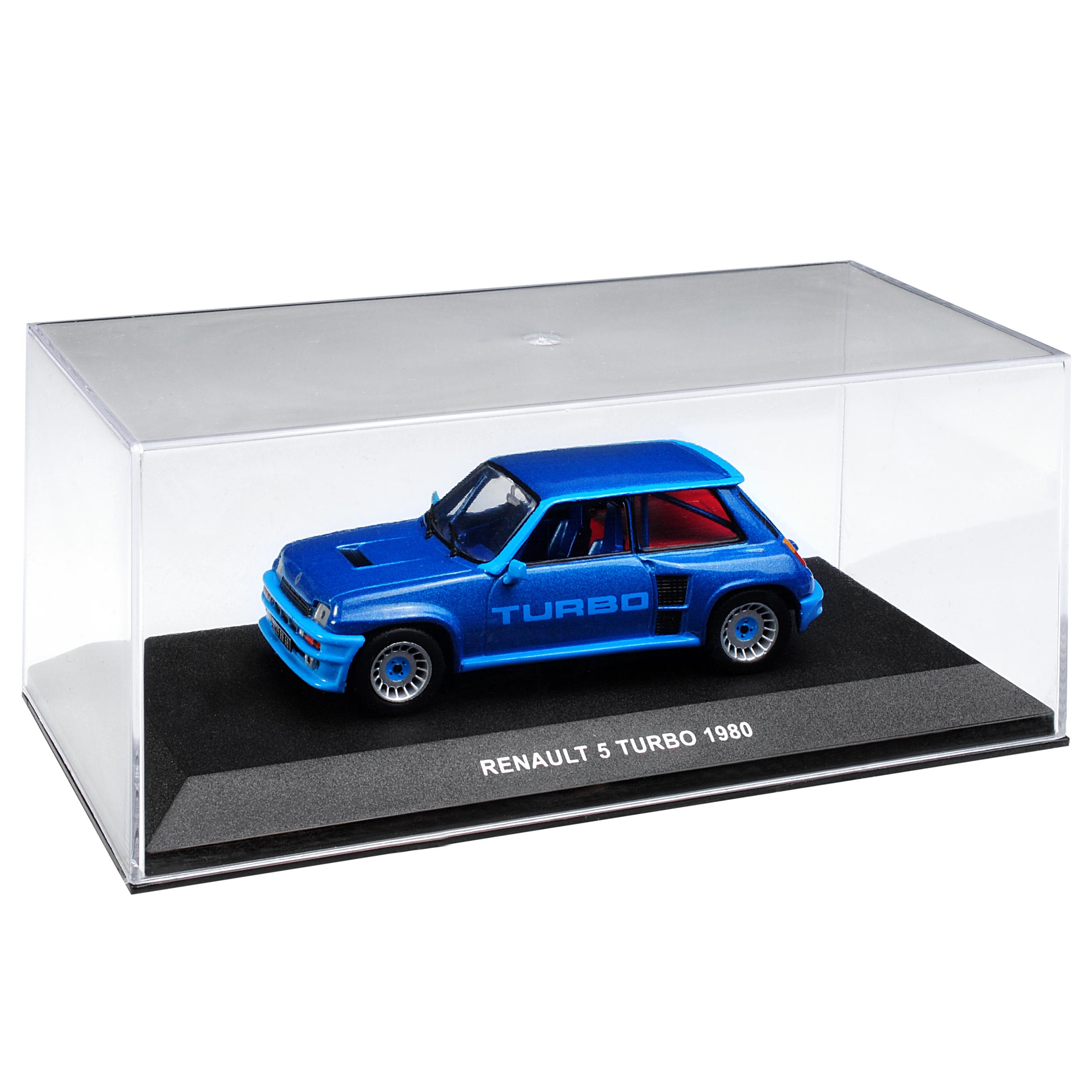 Generation 1972-1985 1//43 solido auto modello o con... RENAULT r5 TURBO BLU 1