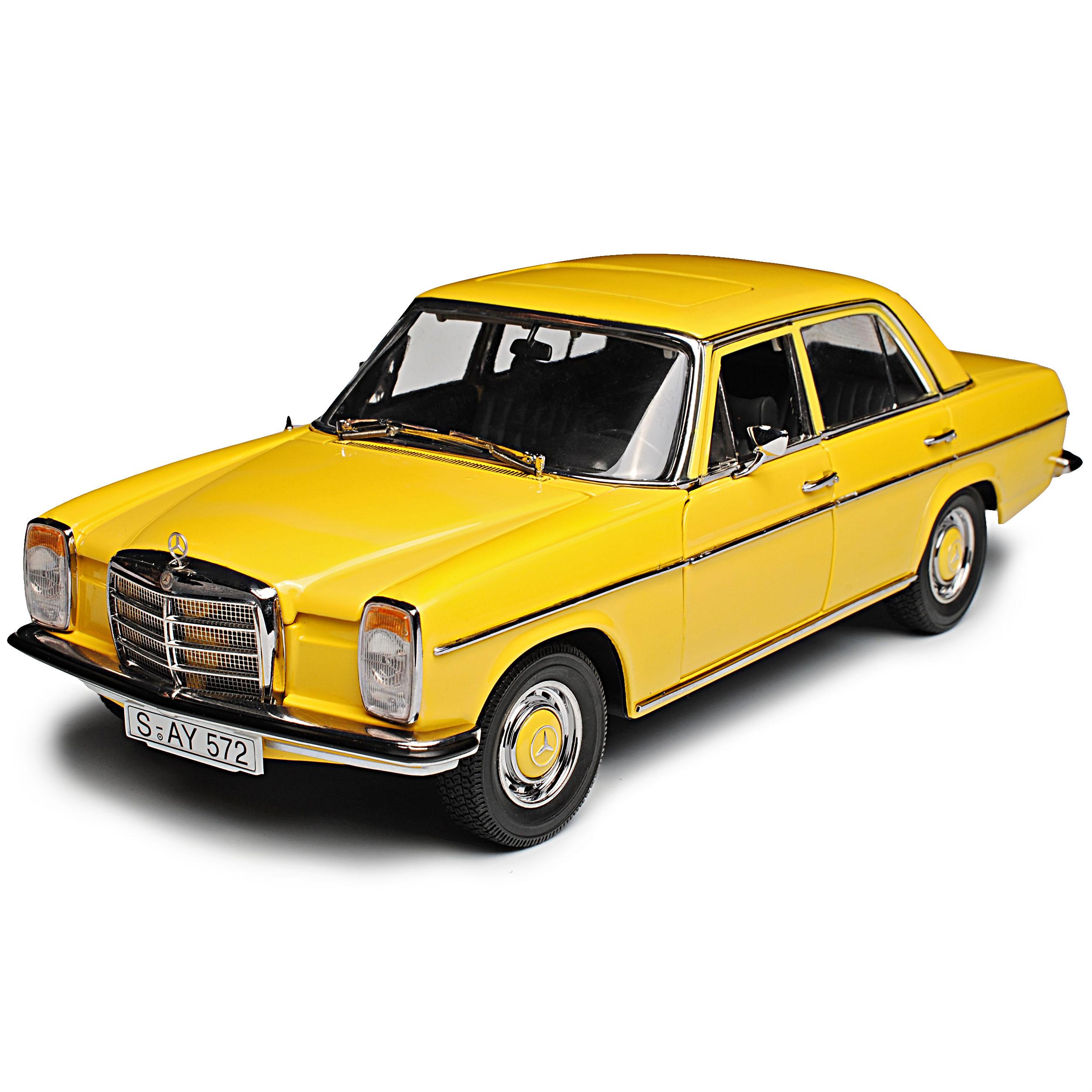 Mercedes-Benz //8 Strich-Acht Limousine Beige Sahara Gelb W114 1967-1976 1//18 S..