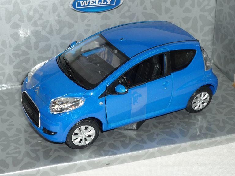 Generation 2005-2014 Baugleich Toyota Aygo Peugeot .. Citroen C1 Blau 3 Türer 1