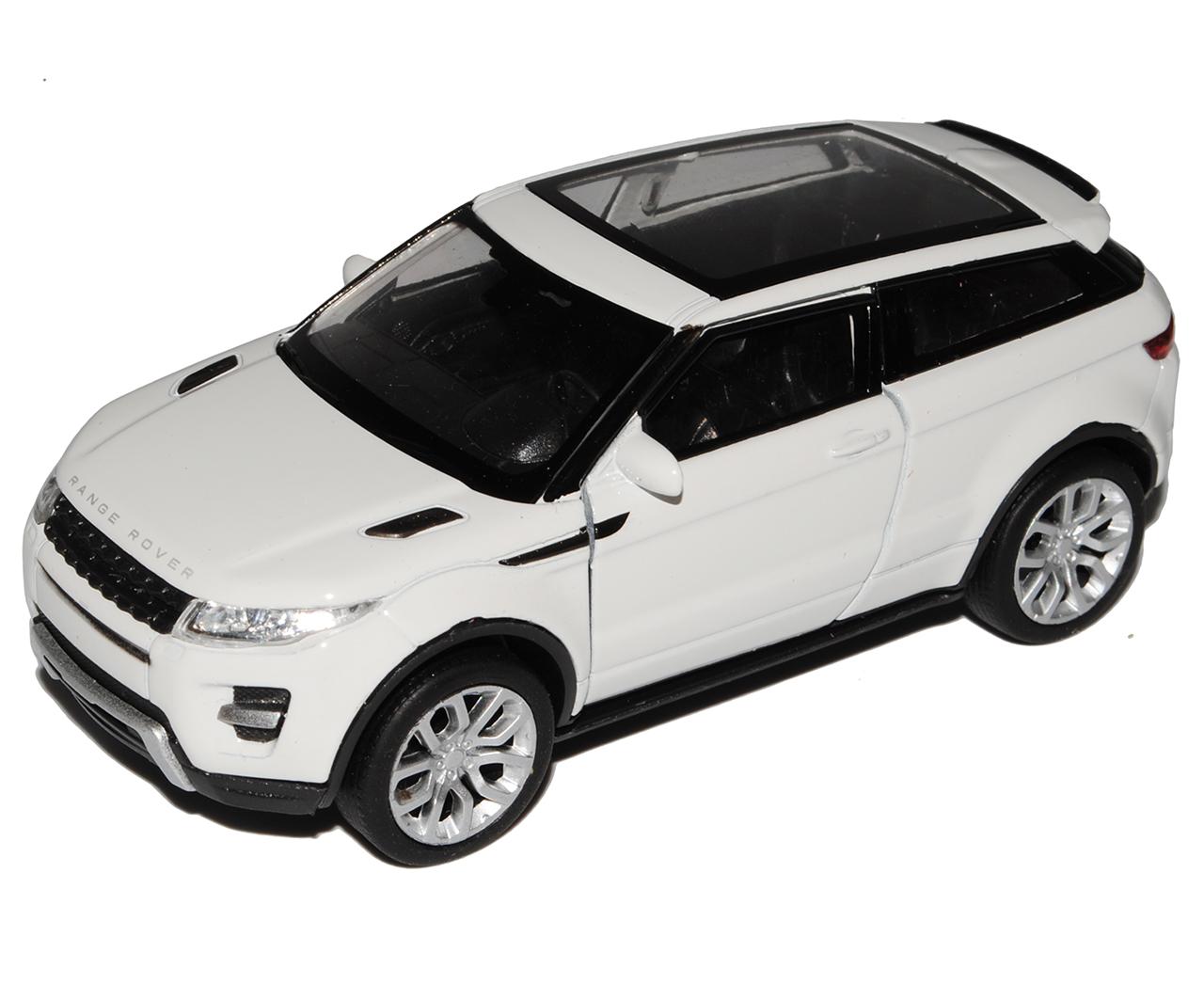 Land Rover Range Rover Evoque 3 Türer Weiss Ab 2011 ca 1//43 1//36-1//46 Welly Mo..