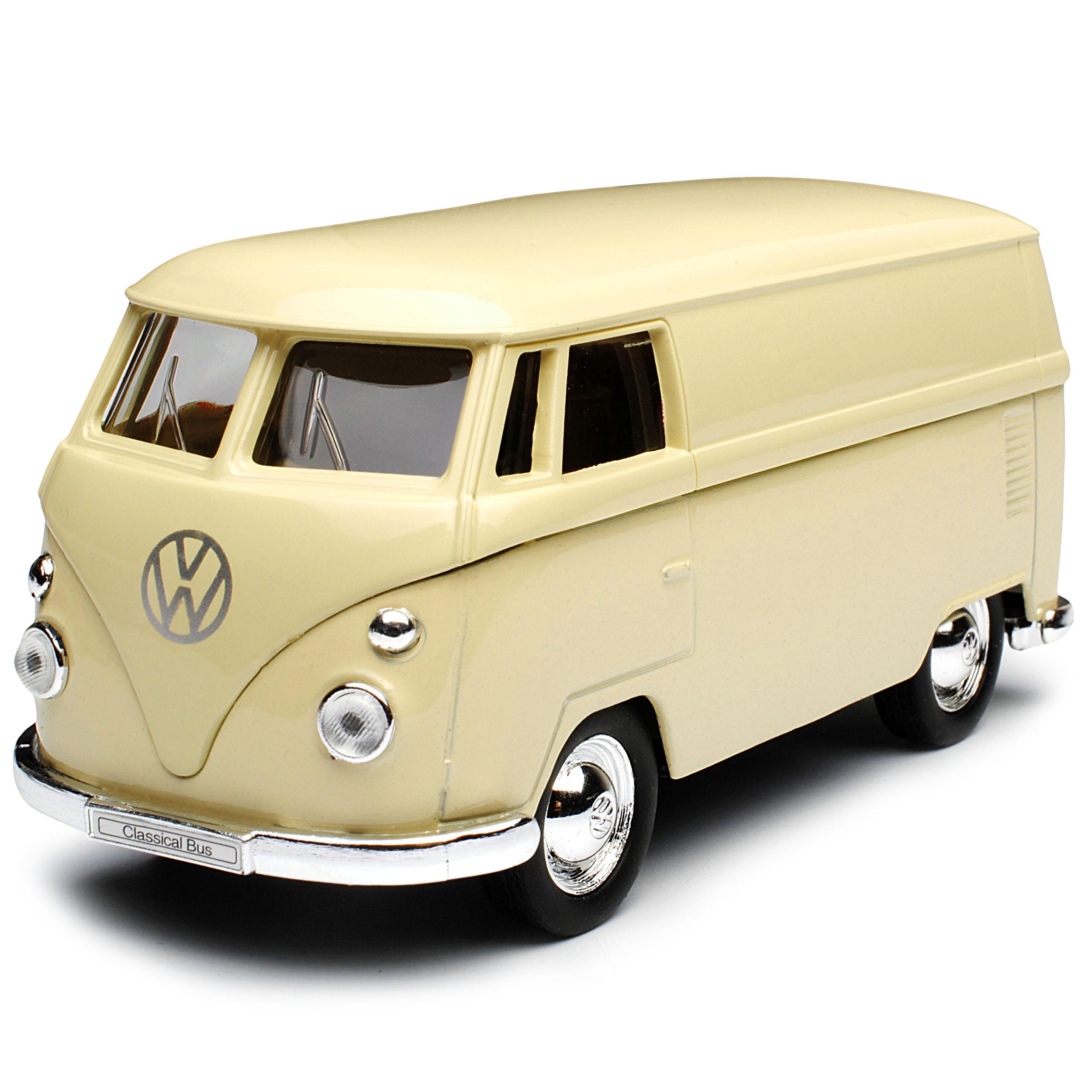 VW Volkswagen T1 Kasten Beige Bully Bus 1950-1967 ca 1//43 1//36-1//46 Welly Mode..