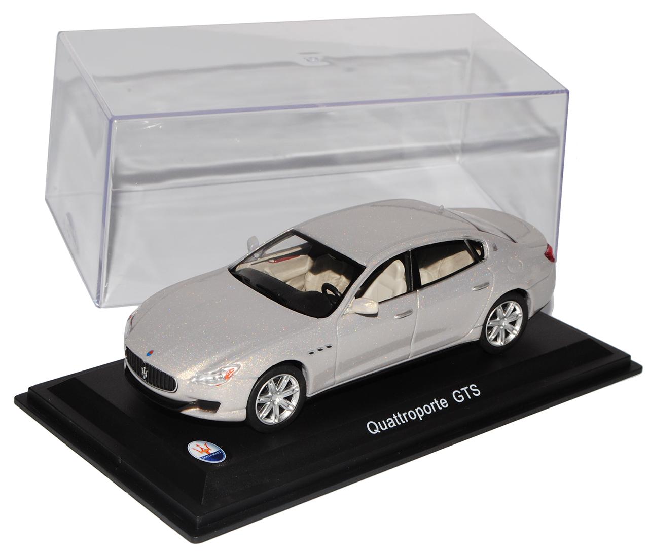 Maserati Quattroporte GTS Limousine Silber Grau Ab 2013 1//43 Whitebox Modell A..
