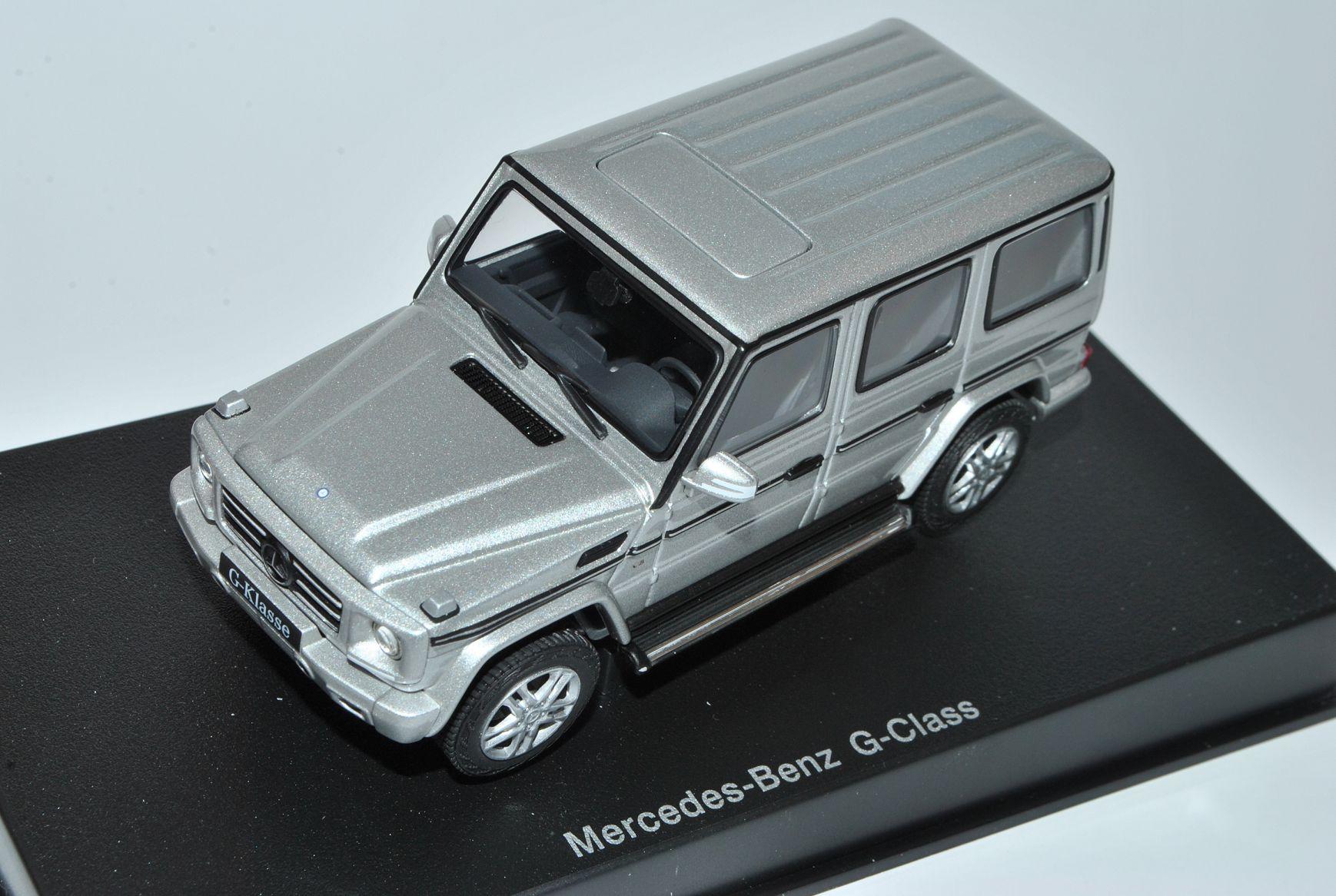 Mercedes-benz G-clase plata 5 puertas Facelift a partir de 2012 2012 2012 w463 56119 1 43 Autoart... b097c3