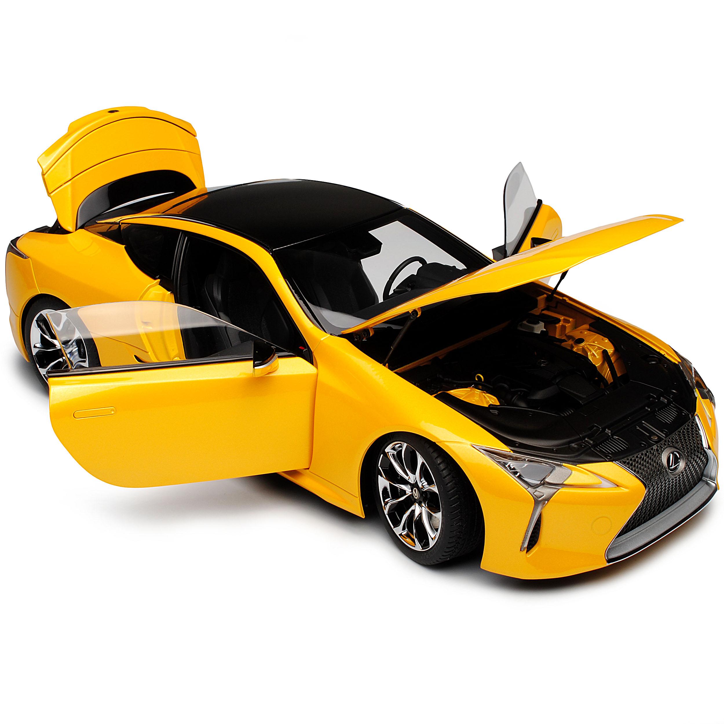 Lexus LC500 Coupe Gelb Metallic Ab 2017 78847 1 1 1 18 AutoArt Modell Auto mit ode..  | Haltbarkeit  e1ad2c