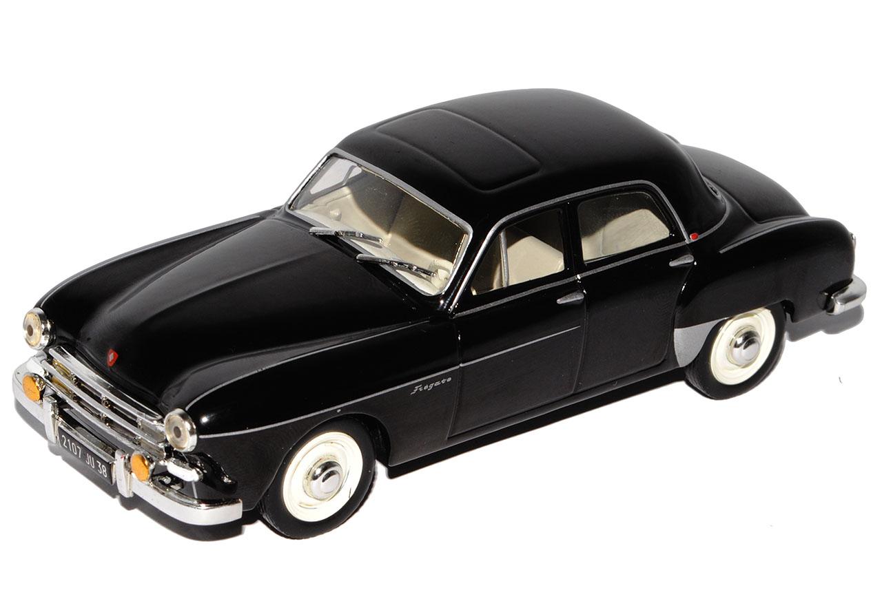 Renault-Fregate-Amiral-negro-sedan-base-con-pantalla-de-caso-1-43-hijo-de-Atlas miniatura 8