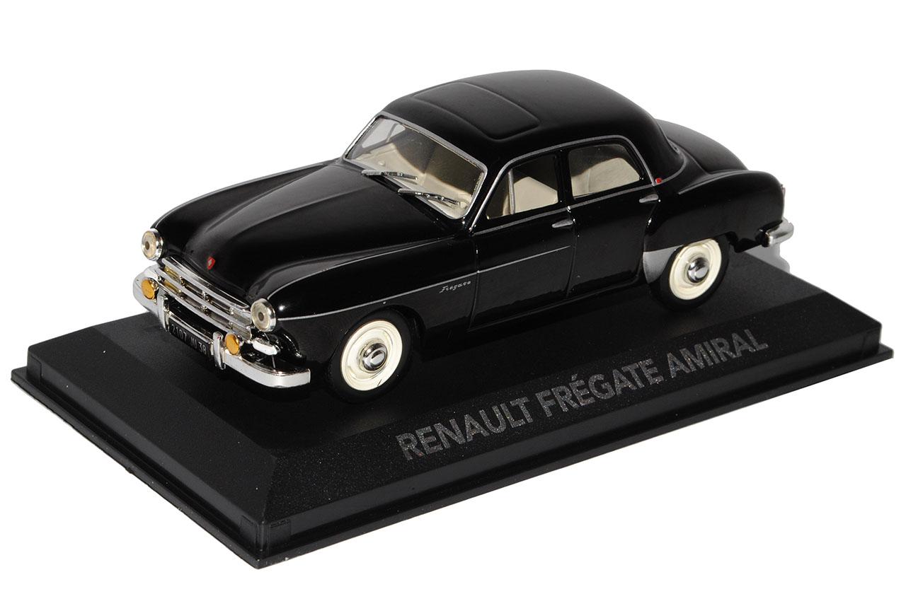 Renault-Fregate-Amiral-negro-sedan-base-con-pantalla-de-caso-1-43-hijo-de-Atlas miniatura 9
