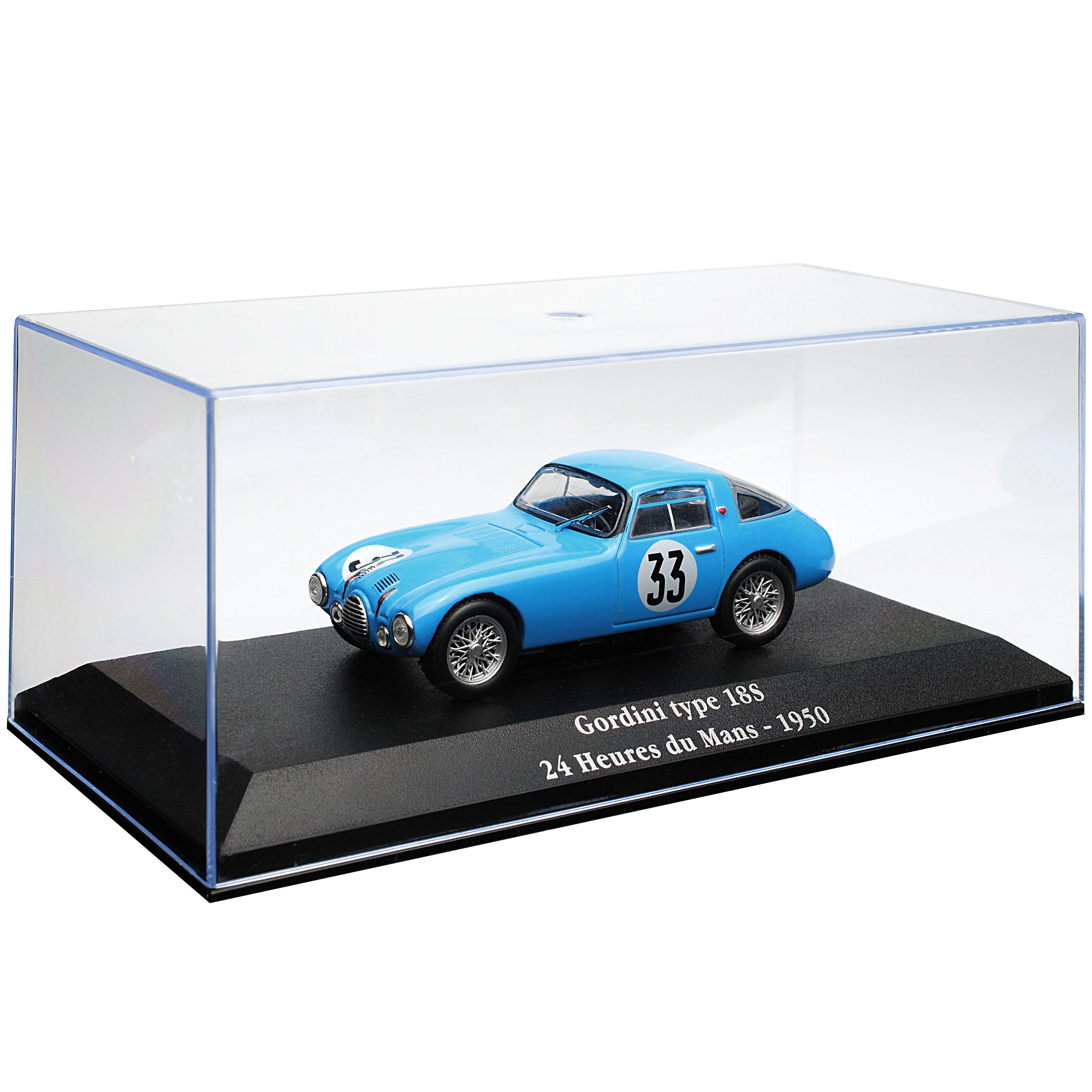 Renault-Gordini-Type-18s-24h-tu-le-mans-1950-1-43-atlas-modelo-coche-con-o-o miniatura 9