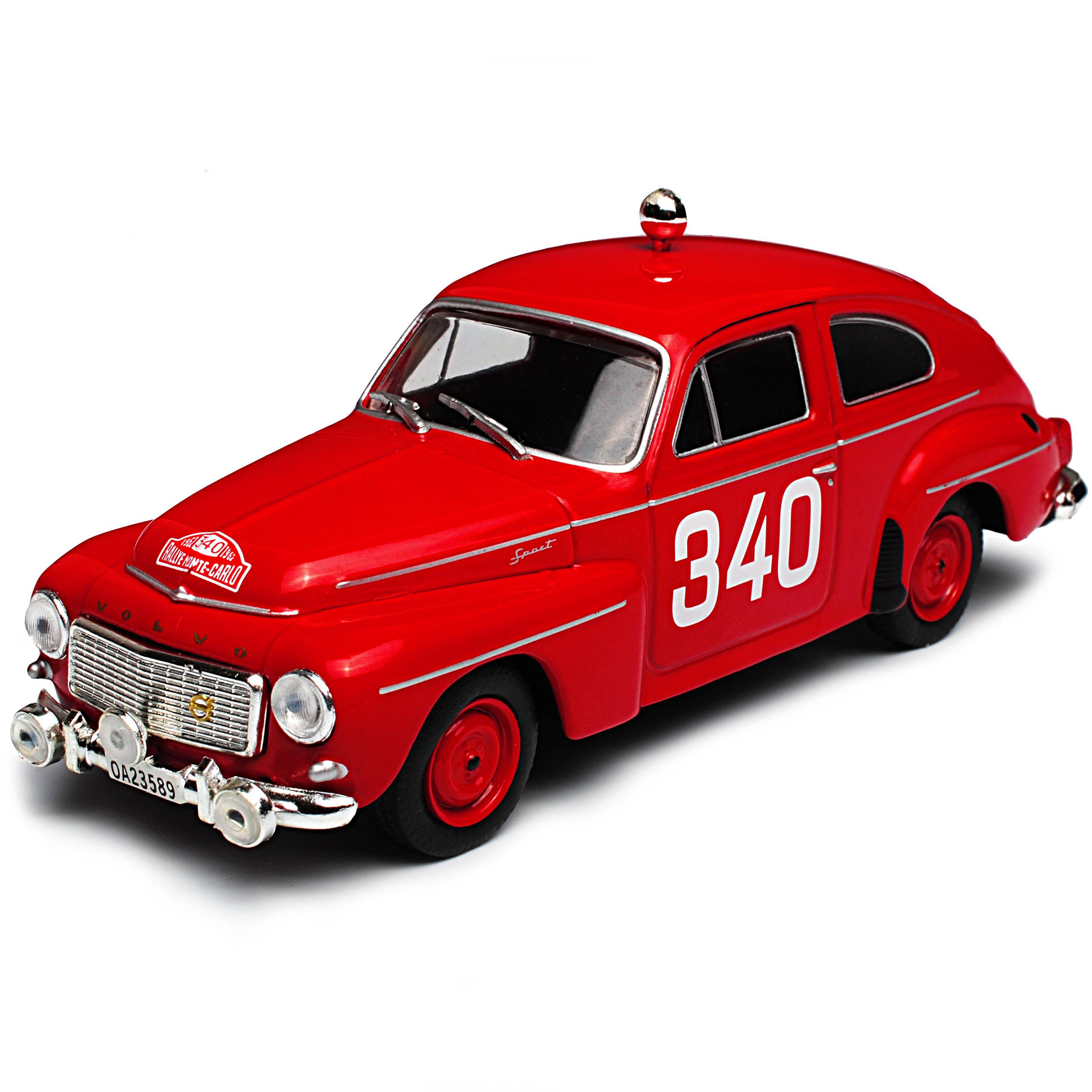 Volvo pv544 Rosqvist Sedán rojo rally rally rally de monte carlo 1958-1969 1 43 atlas mod.. 998295