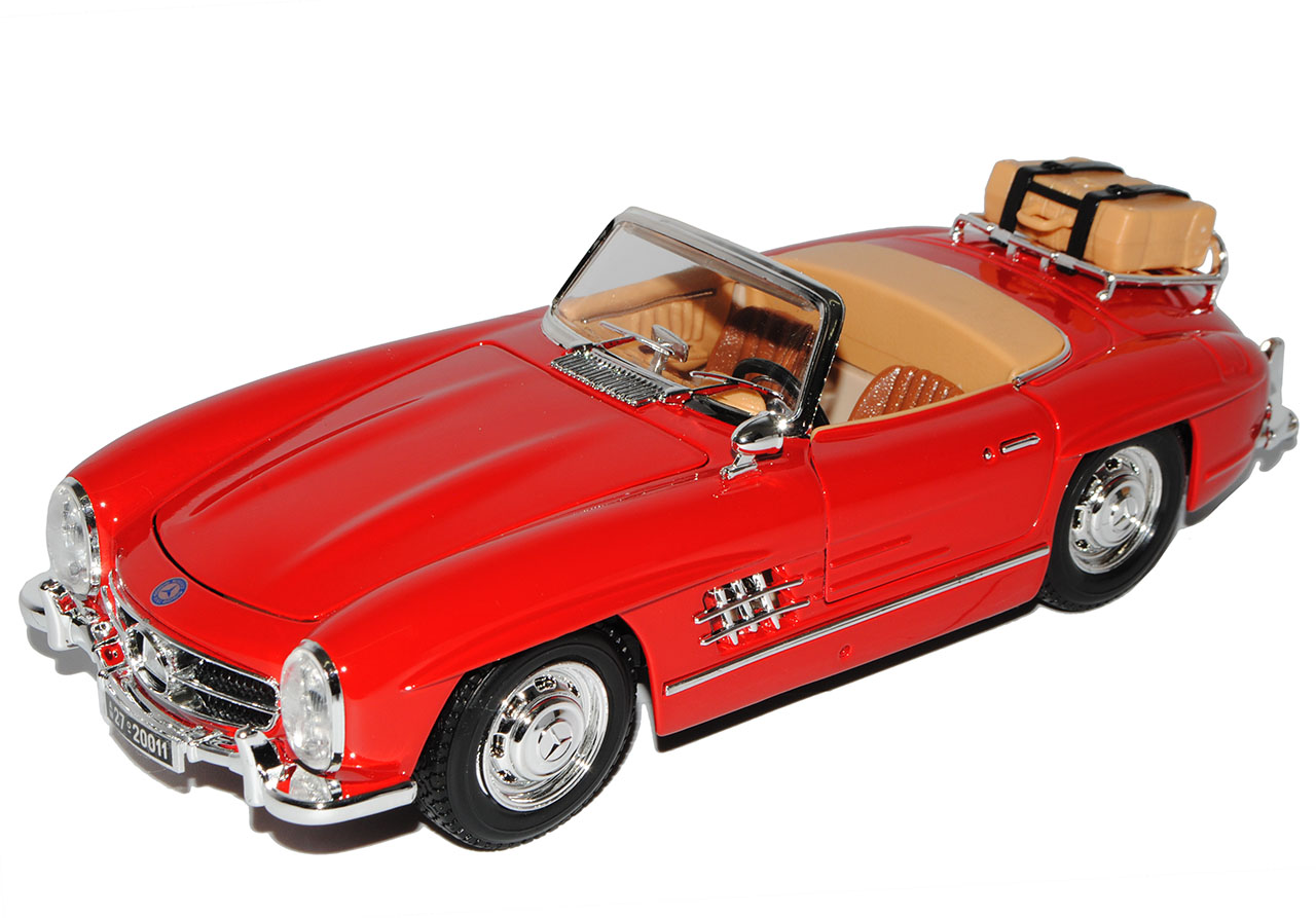 Mercedes-Benz 300SL Touring Roadster Cabrio red red red W198 1954-1963 18-12049 1 18 B.. 3e6025