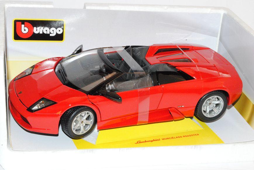 Lamborghini Murcielago roadster rojo 2001-2010 18-12070 1 18 Bburago Bburago Bburago modelo aut... aa715b