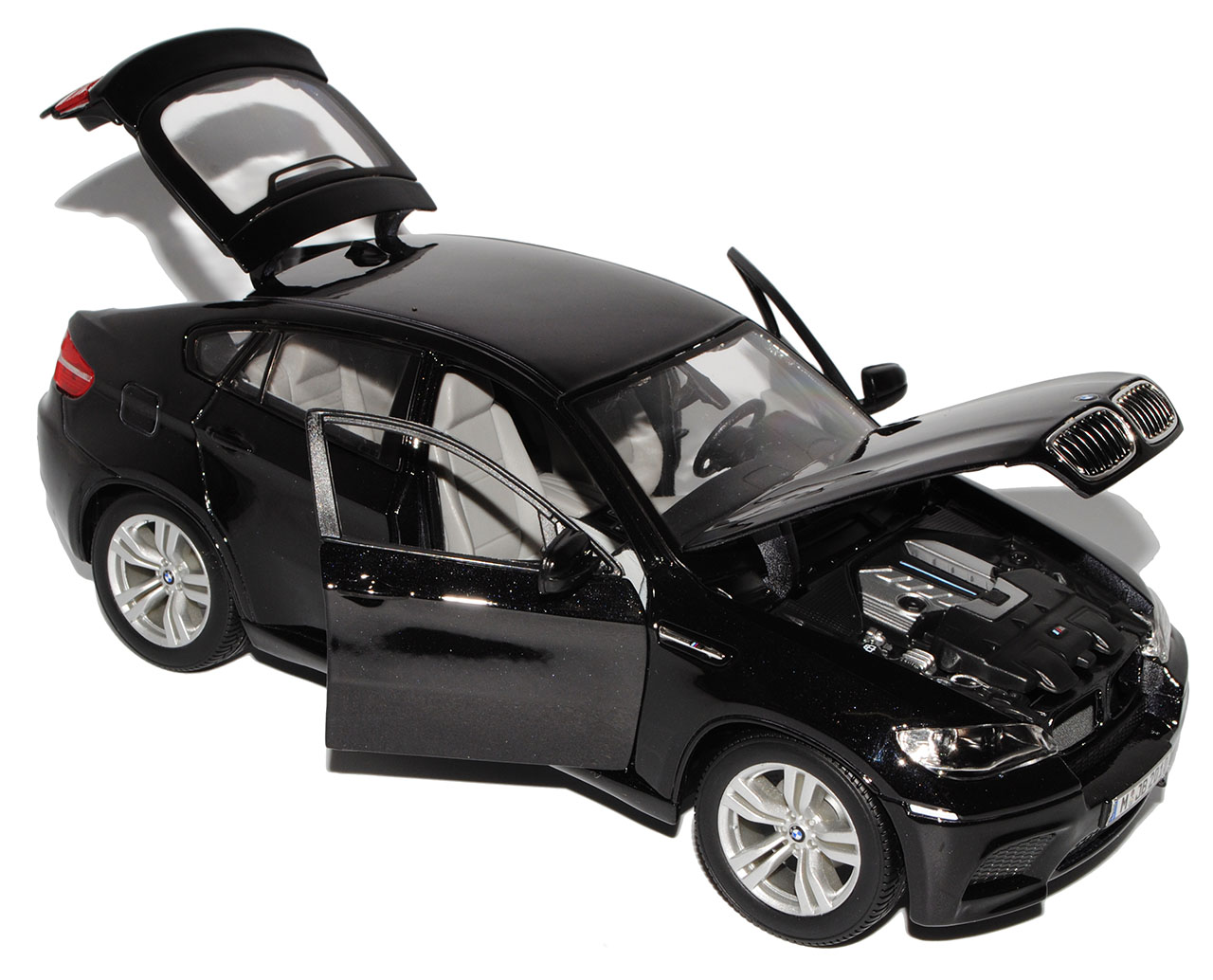 bmw x6 e71 suv schwarz 2008 2014 1 18 bburago modell auto. Black Bedroom Furniture Sets. Home Design Ideas