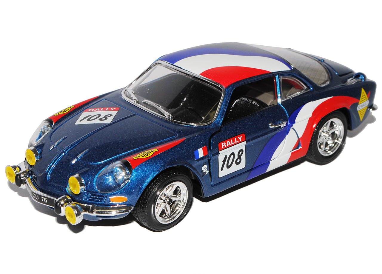 renault alpine a110 1600s rally blau nr 108 18 22022 1 24. Black Bedroom Furniture Sets. Home Design Ideas