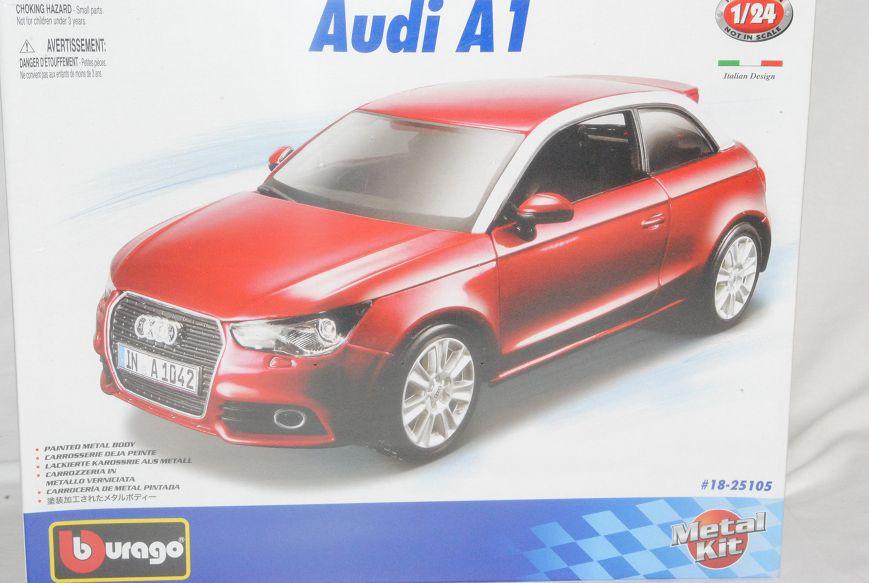 Audi A1 3 Türer Rot 8X Ab 2010 H0 1//87 Herpa Modell Auto mit oder ohne individ..