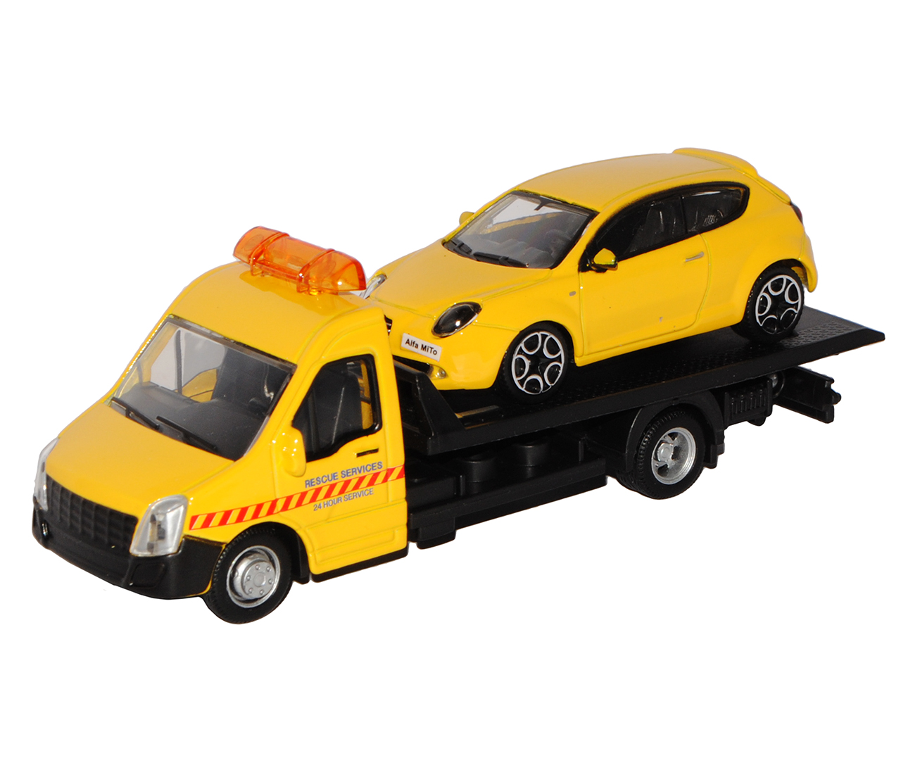 1:43 Streetfire Alfa Romeo MTO   gelb  wie Bild  neu 18 Bburago®  Modellauto