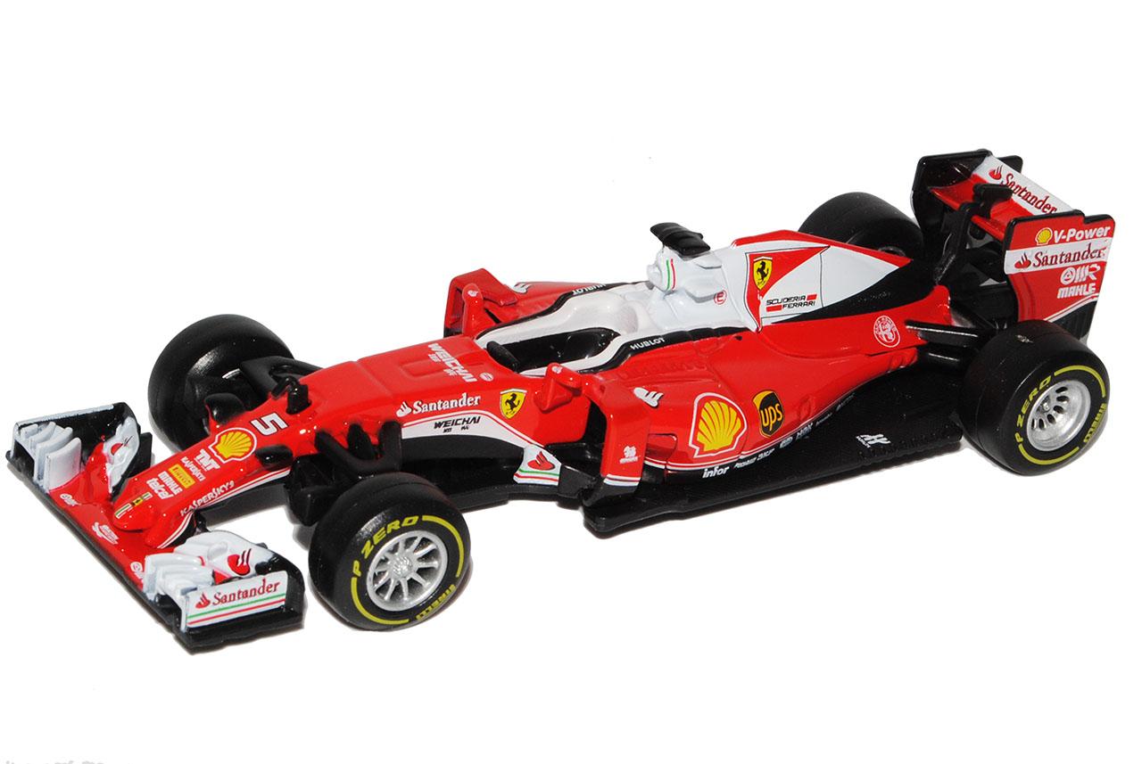 FERRARI-sf16-h-Sebastian-ciabatta-nr-5-formula-1-2016-1-43-Bburago-Auto-Modello-Mer