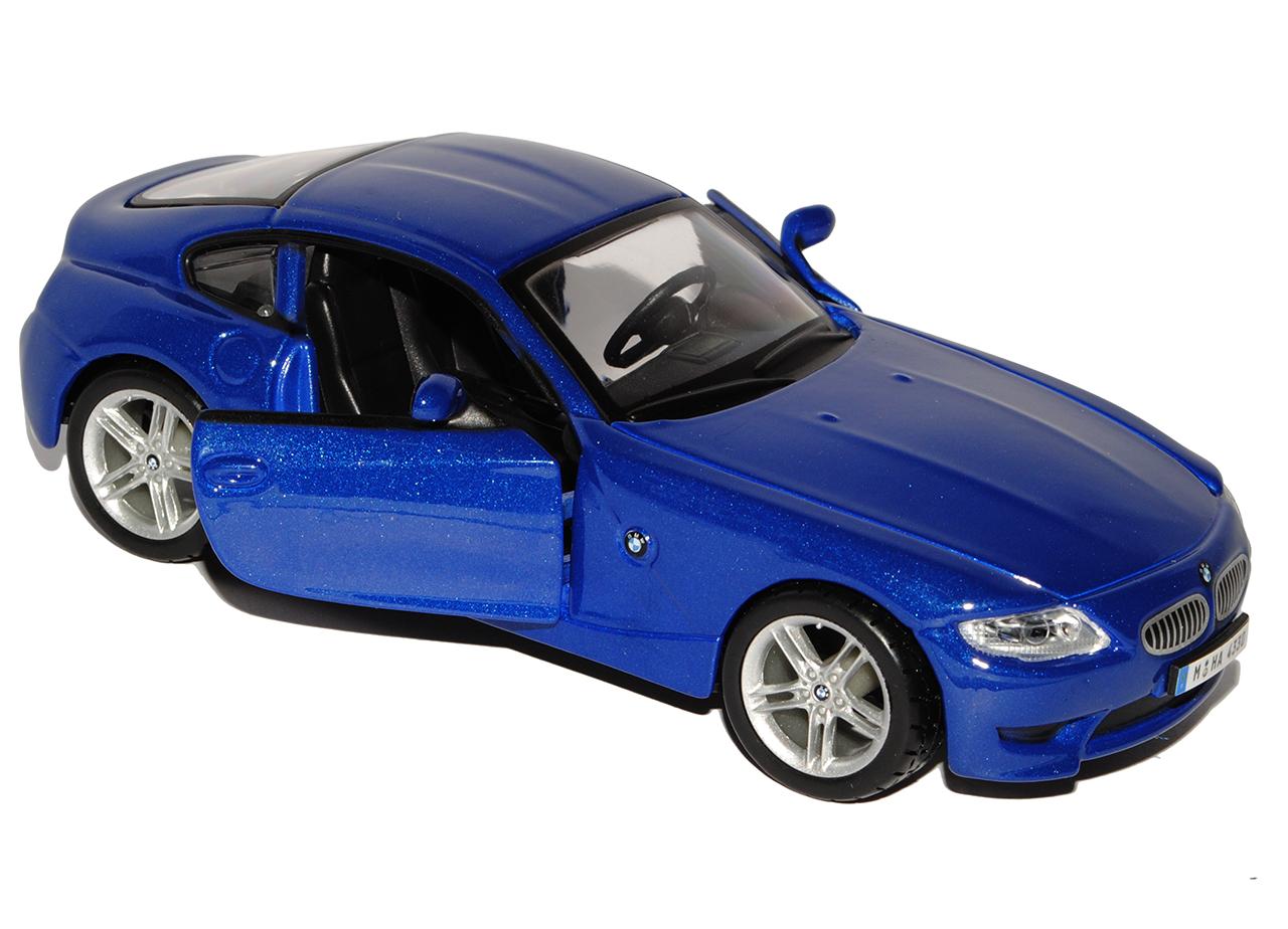 bmw z4 e86 m coupe blau 2002 2008 1 32 bburago modell auto. Black Bedroom Furniture Sets. Home Design Ideas