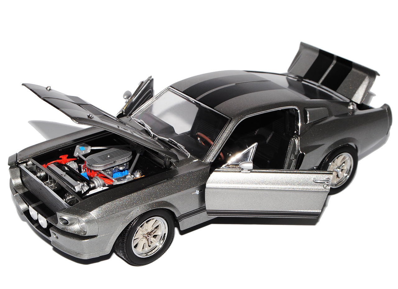 Ford-Shelby-Mustang-GT500-Eleanor-Nur-Noch-60-Sekunden-1-18-Greenlight-Modell miniatuur 6
