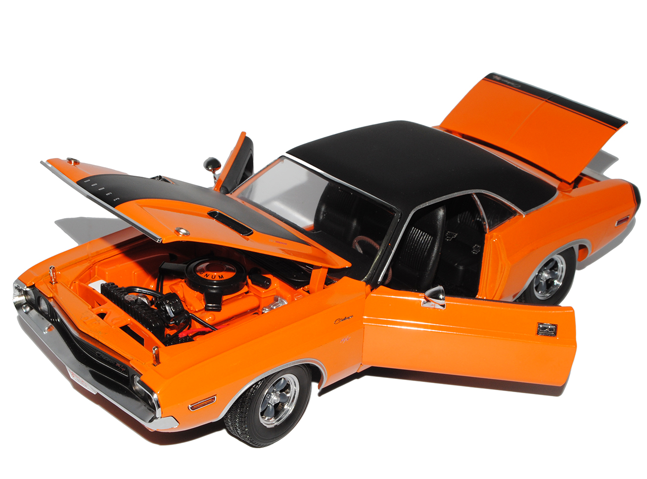 Dodge Challenger Challenger Challenger R T Coupe orange 1970 Darden Fast and the Furious 1 18 Greenl.. 758441