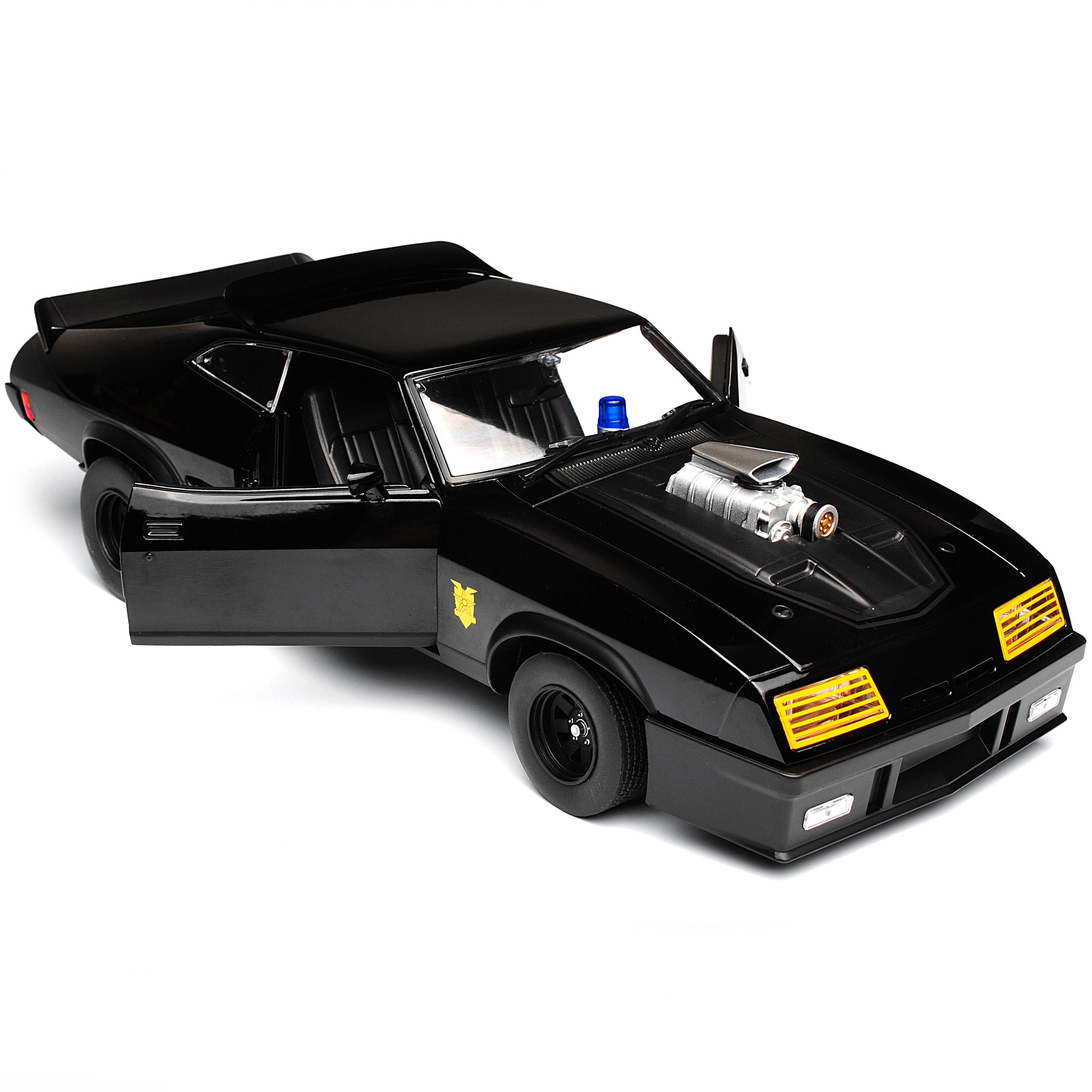 Ford-XB-Falcon-sintonizada-version-Mad-Max-II-2-negra-interceptor-negro-1973-1-18 miniatura 9