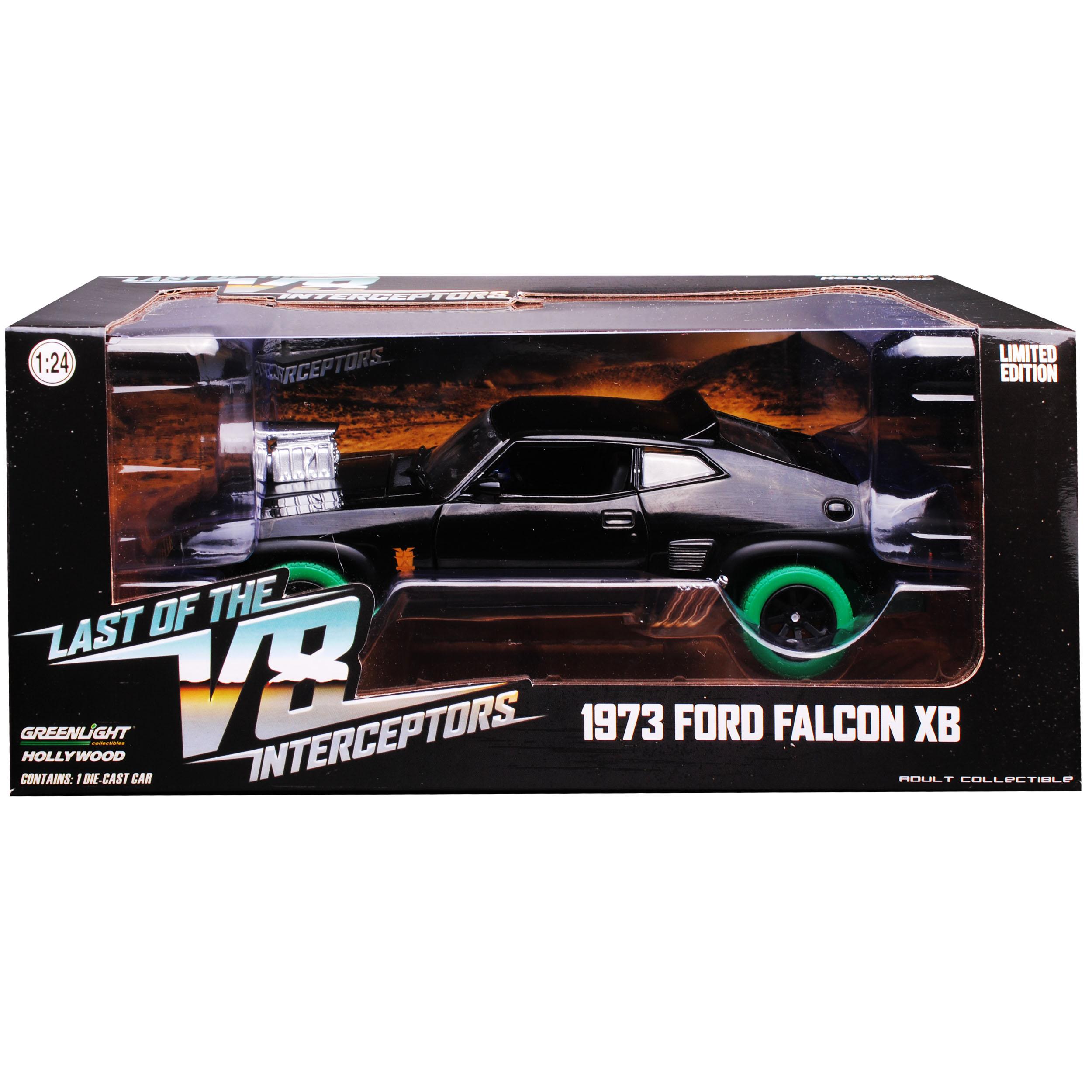 Ford-xb-Falcon-tuned-version-Mad-Max-II-2-Black-interceptor-negro-con-Gruene miniatura 10