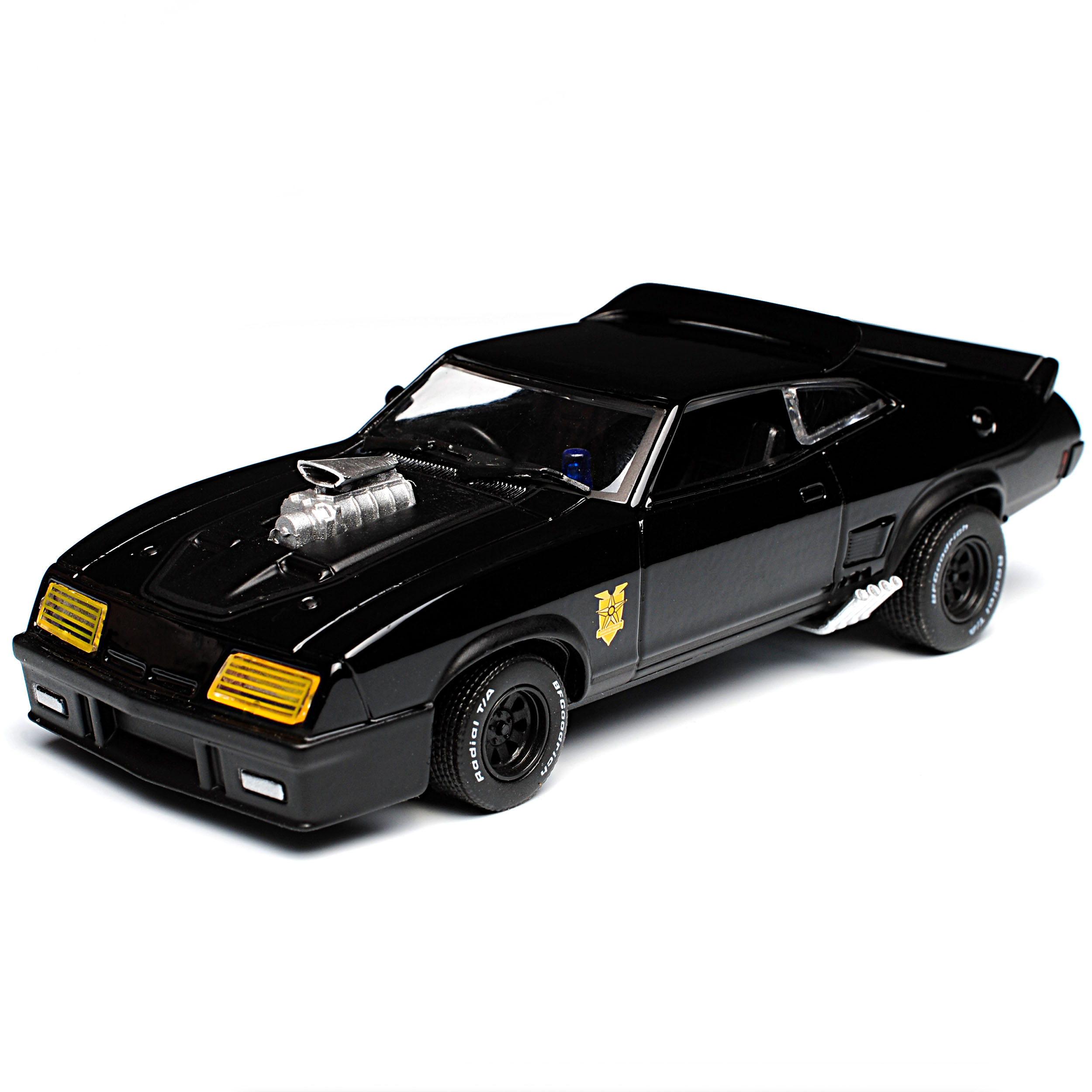Ford-xb-Falcon-tuned-version-Mad-Max-II-2-Black-interceptor-negro-1973-1-43 miniatura 8