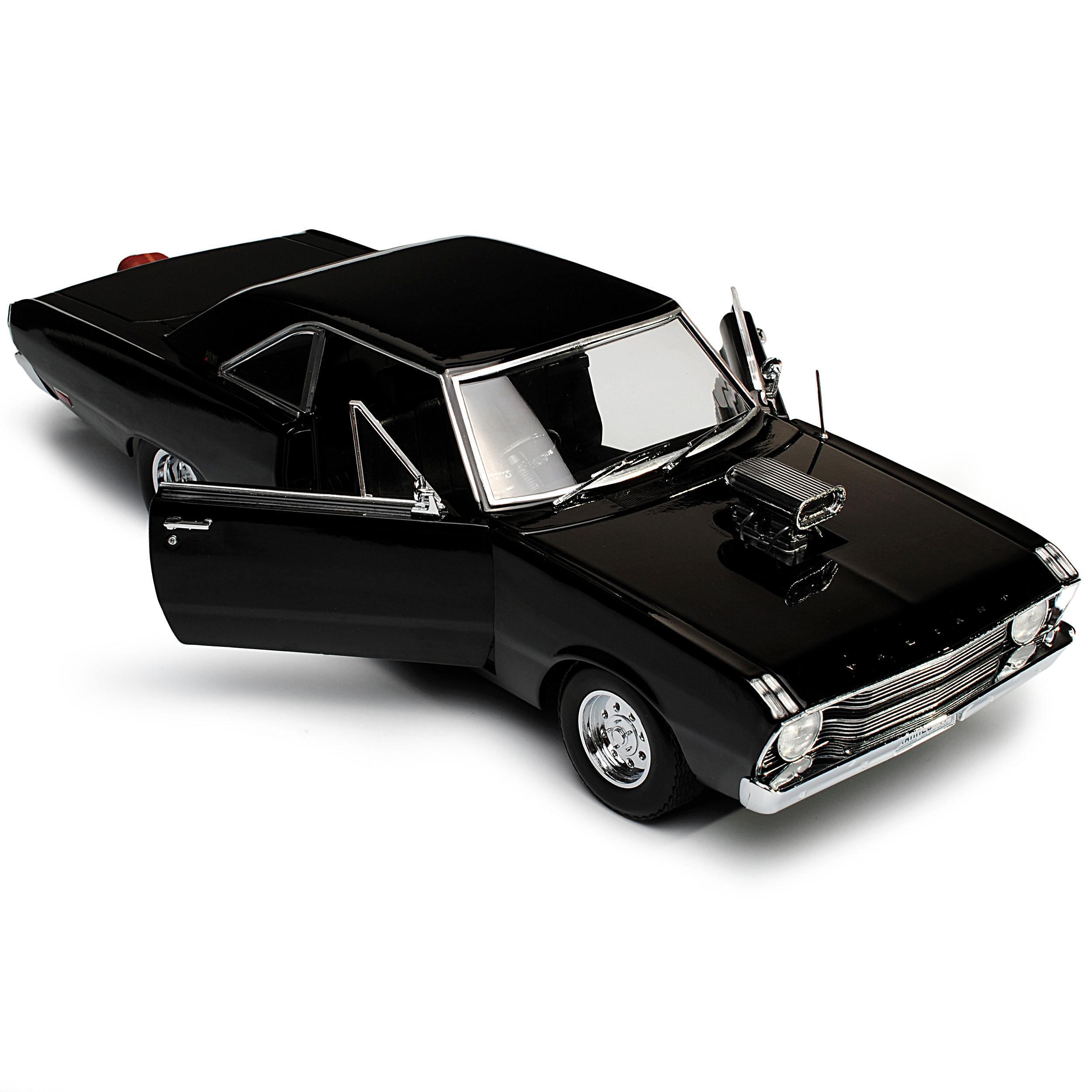 CHRYSLER VALIANT VF coupé noir Drag Car Car Car 1969-1970 1 18 vertlight Modèle UA... bd18ba