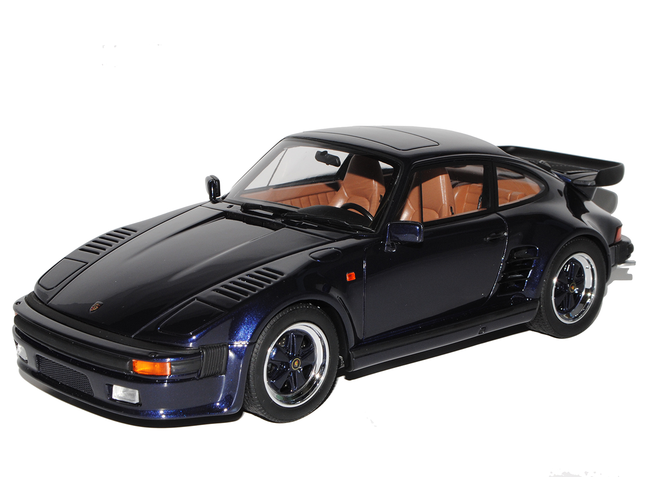 Porsche 911 930 930 930 Turbo Coupé Flat Nose Flachbau BLEU NR 028 1981-1989 1/18 GT P.. | Merveilleux  39e90c