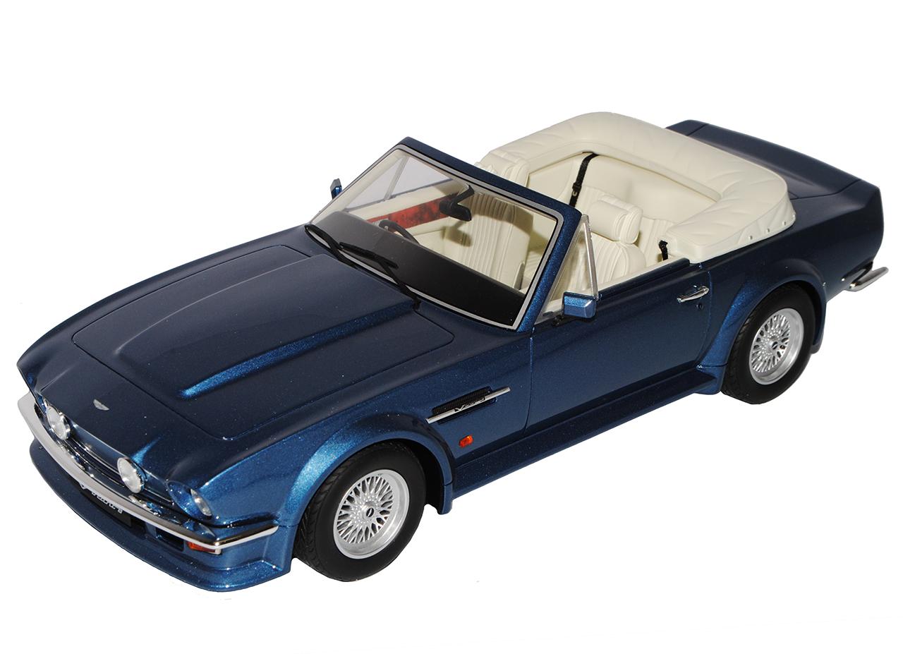 Aston Martin V8 Vantage Volante DBS Cabrio Blau 1972-1973 Nr 128 1 18 GT Spiri..  | Tragen-wider