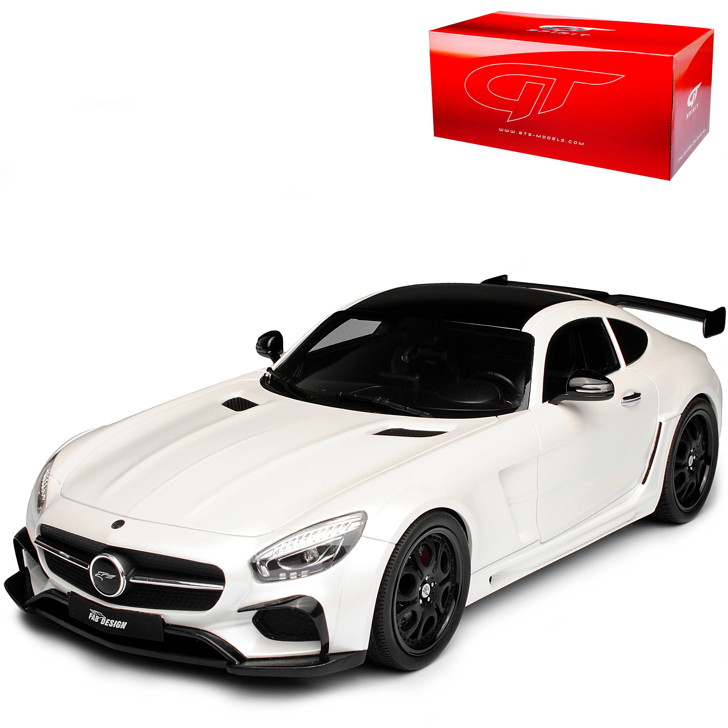 Mercedes-Benz AMG GT c190 FAB design Areion BLANC NR 157 1 18 GT SPIRIT Modèle...