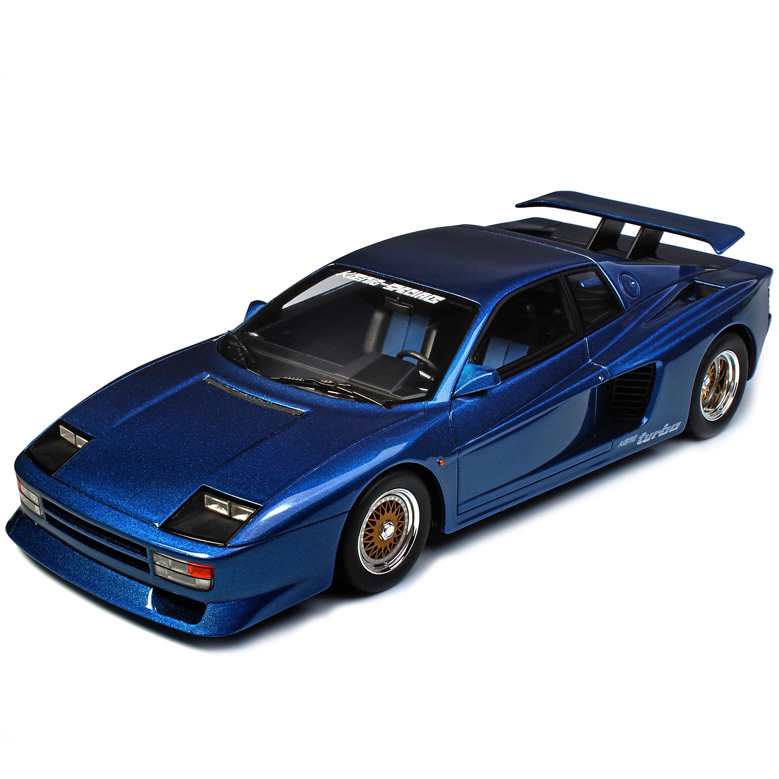 Roi Competition Ferrrari TESTAROSSA Evolution Bleu ZM 94 94 94 limitée 1 de 504.. e213a1