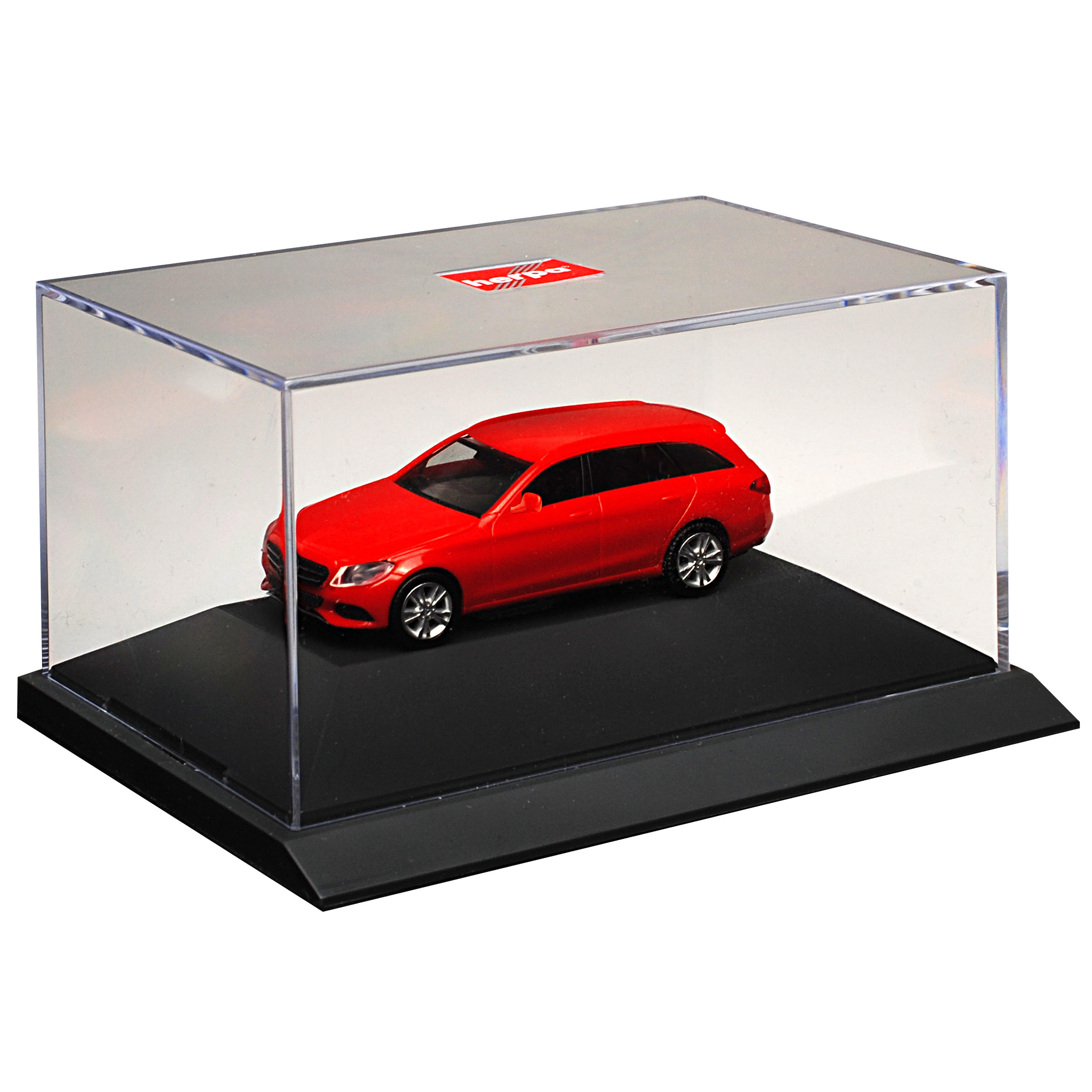 Mercedes-Benz-Classe-C-Modele-T-W205-Break-Rouge-Ab-2014-Kit-Kit-avec-Socle miniature 3