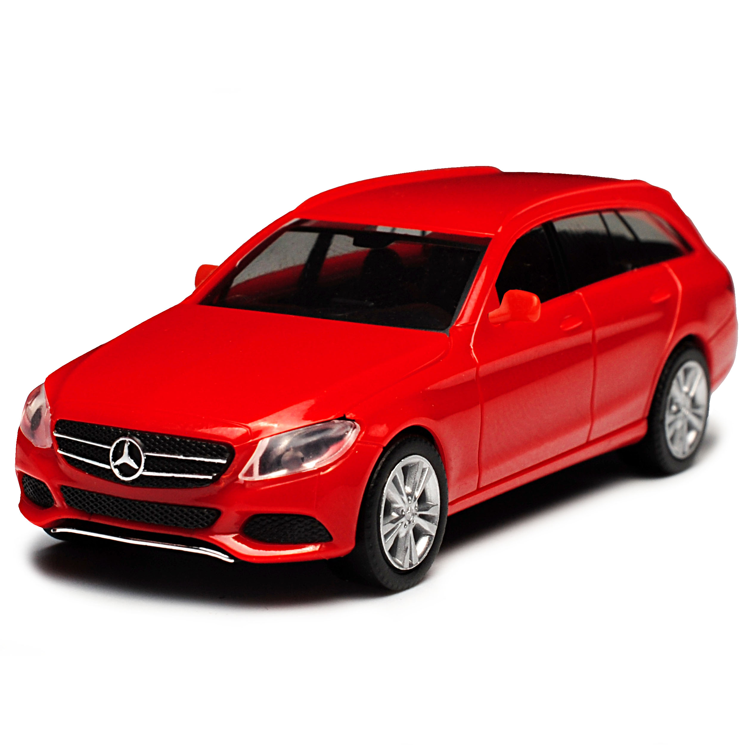 Mercedes-Benz-Classe-C-Modele-T-W205-Break-Rouge-Ab-2014-Kit-Kit-avec-Socle miniature 4