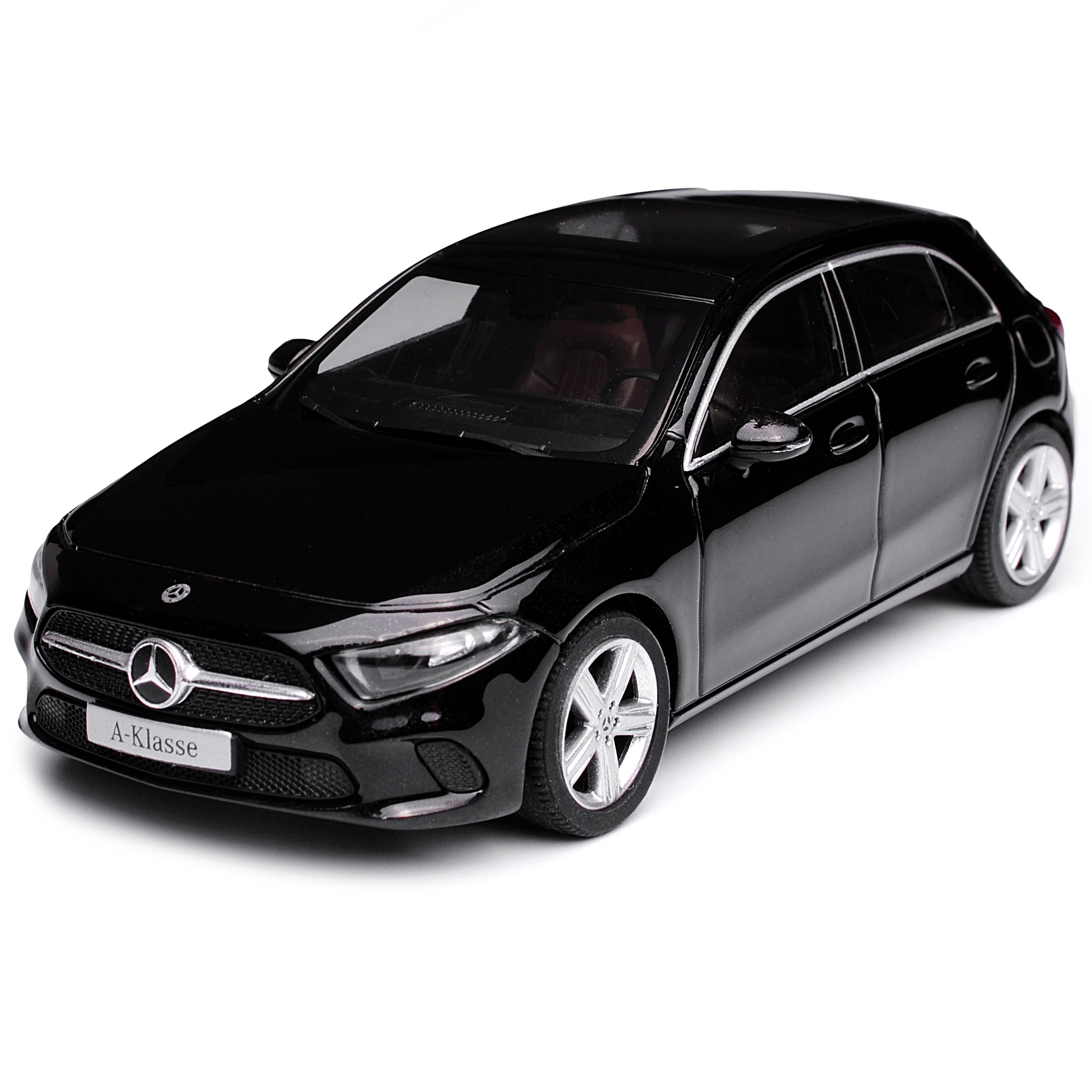 Mercedes-Benz A-Klasse W177 Kosmos black Metallic Ab Ab Ab 2017 1 43 Herpa Modell .. 24596f
