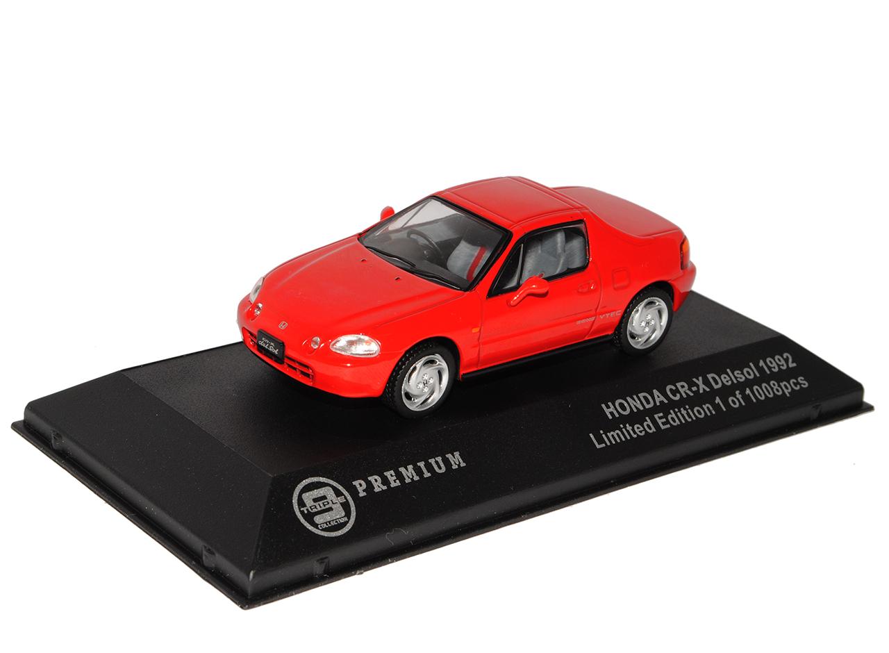 Honda-CR-X-Del-Sol-Typ-EH6-Rot-1992-1998-limitiert-1-von-1008-Triple-9-1-43-Ix