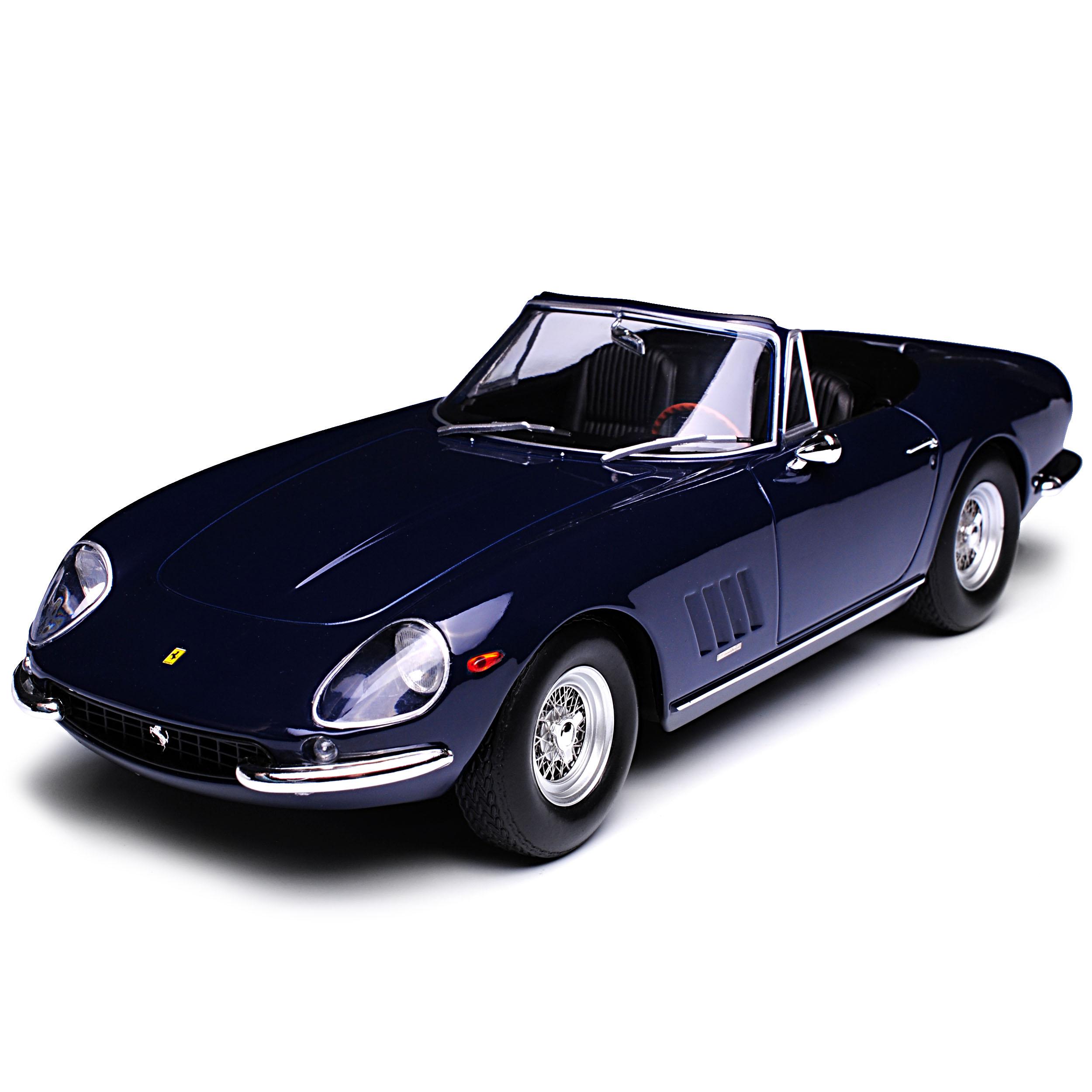 Ferrari 275 gtb4 lennart lennart lennart Spyder converdeible azul oscuro con Soft top tejado 1964-1968 Li... a739f0