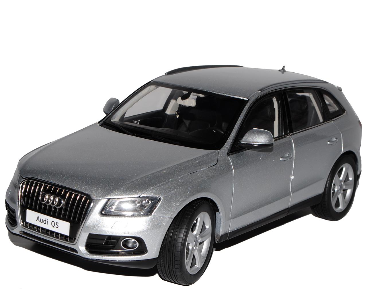 Audi q5 S-Line glace glace glace argent modèle à partir de 2008 à Partir Facelift 2012 1/18 KYOSHO modèle A.. | Finement Traité  6b03b8