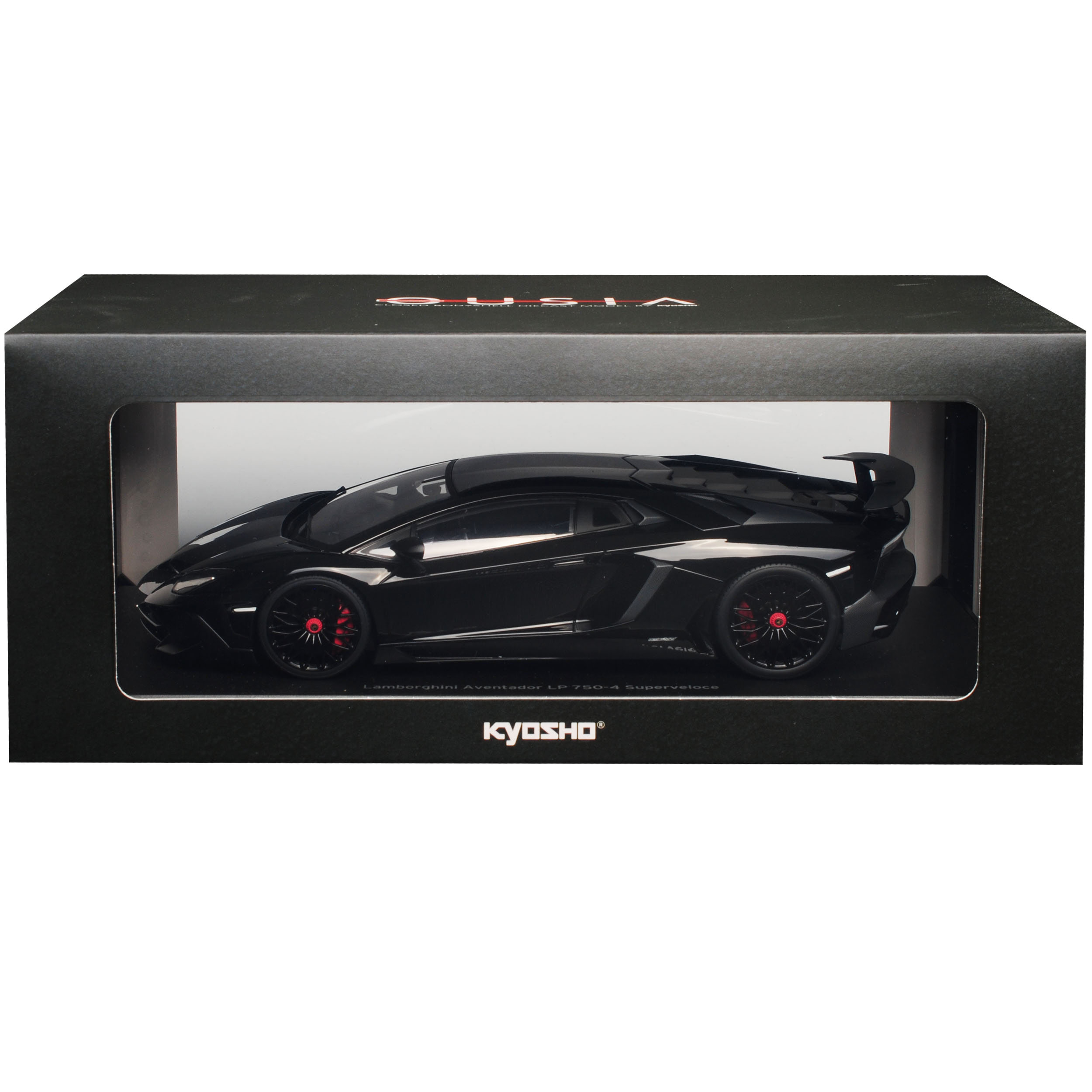 Lamborghini Aventador SV SV SV LP 750-4 Superveloce Noir 1 18 KYOSHO modèle voiture... 69f59e