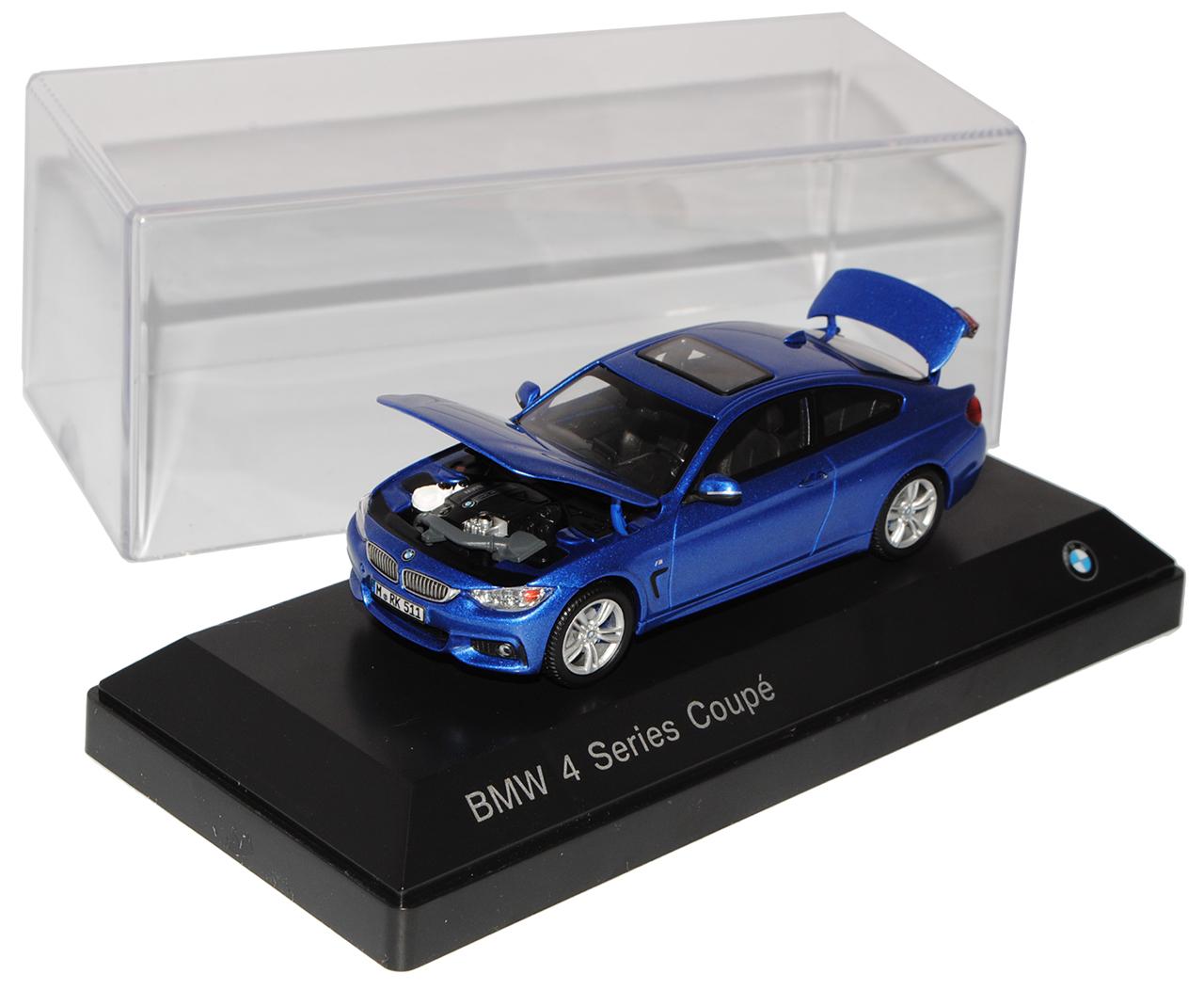 BMW 4er Coupe M F32 Blau AB 2014 1 1 1 43 Kyosho Modell Auto mit oder ohne individ..  | Online-Exportgeschäft  370401